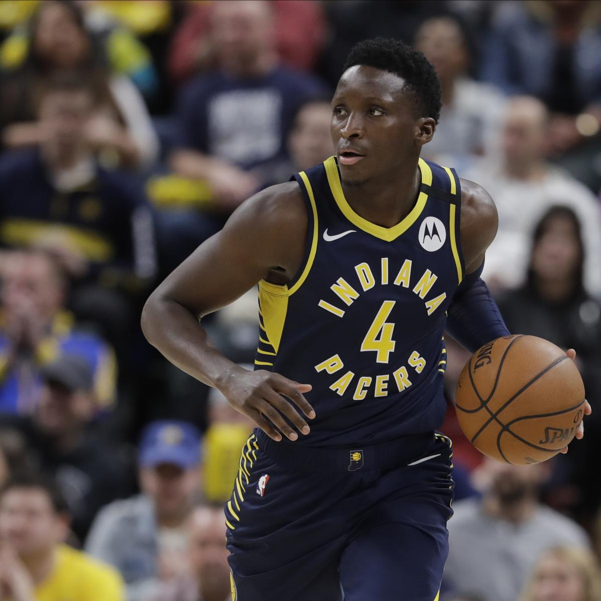 Pacers' Victor Oladipo Won't Play in NBA Restart to Focus on Injury Recovery