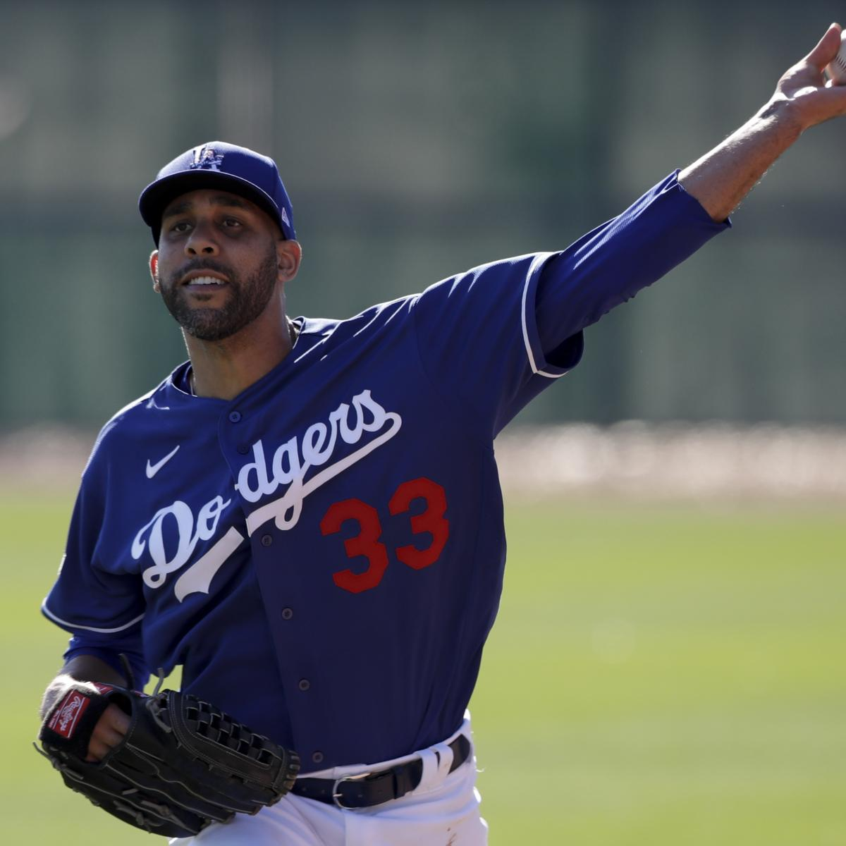 Dodgers' David Price Opts Out of 2020 Season, Cites Family's Health as Priority