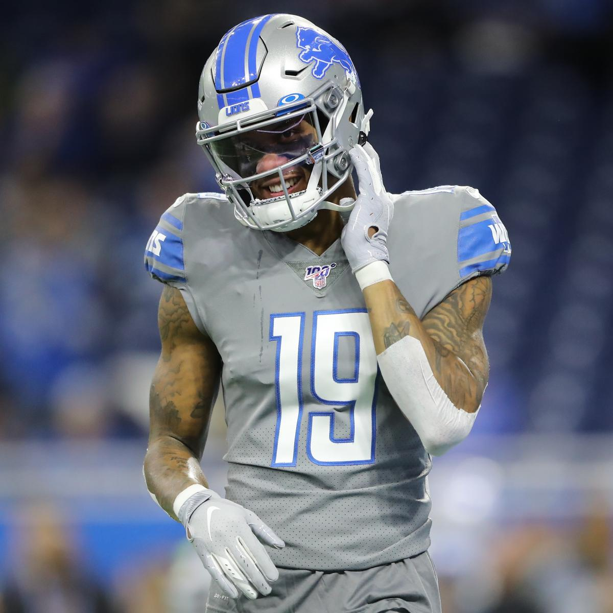 Kenny Golladay Out for Lions vs. Packers Because of Hamstring Injury