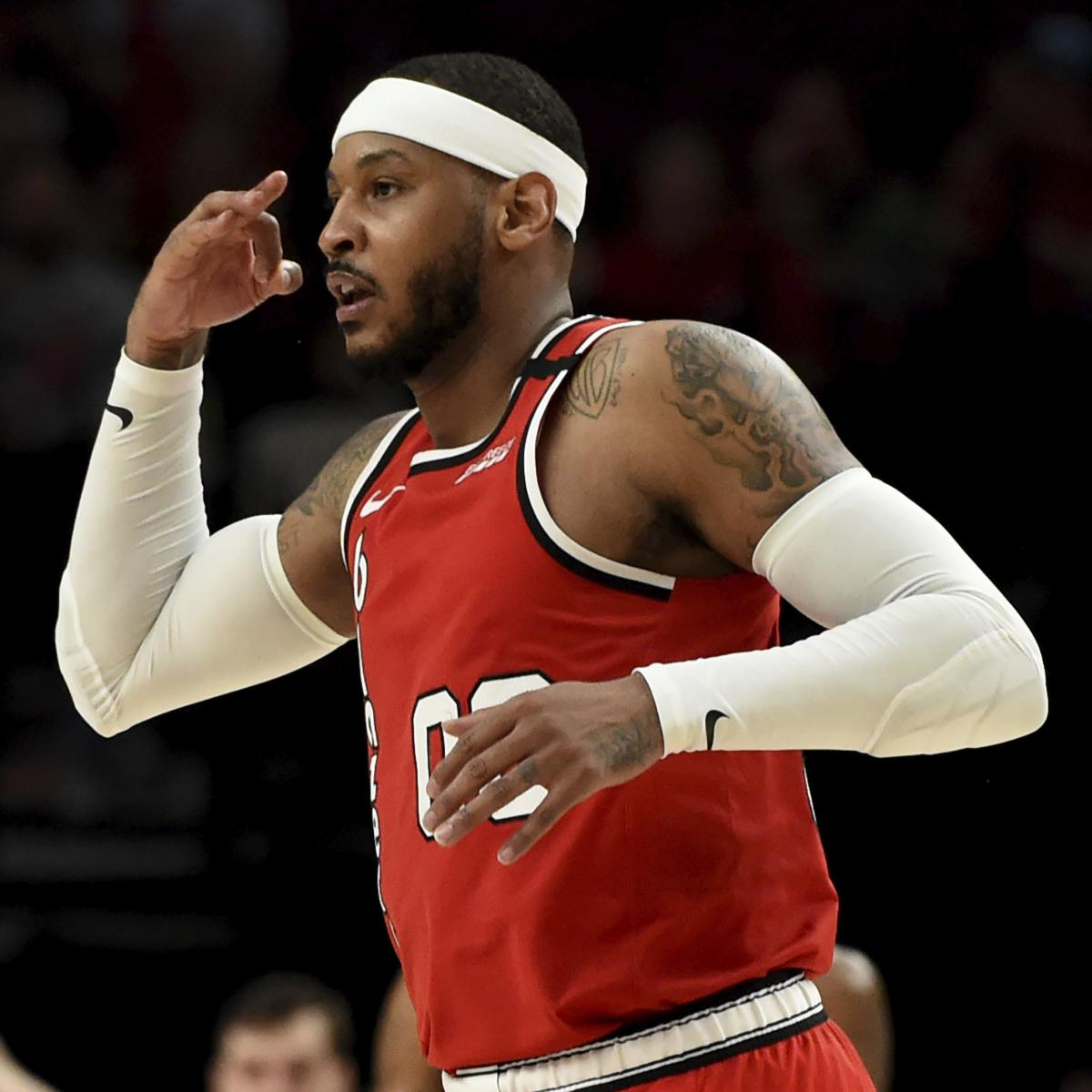 Weight loss diet Carmelo Anthony Talks Weight Loss, Playing SF for Trail Blazers in NBA Restart thumbnail