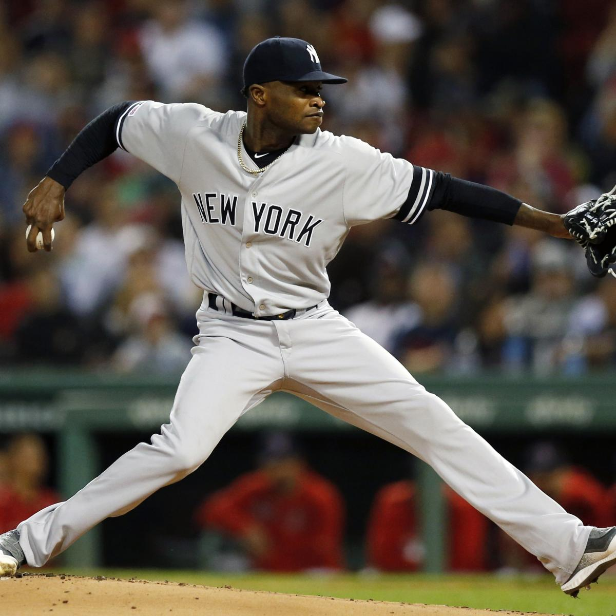 Yankees' Domingo German Says He Has 'Left Baseball' in Cryptic Instagram Post thumbnail