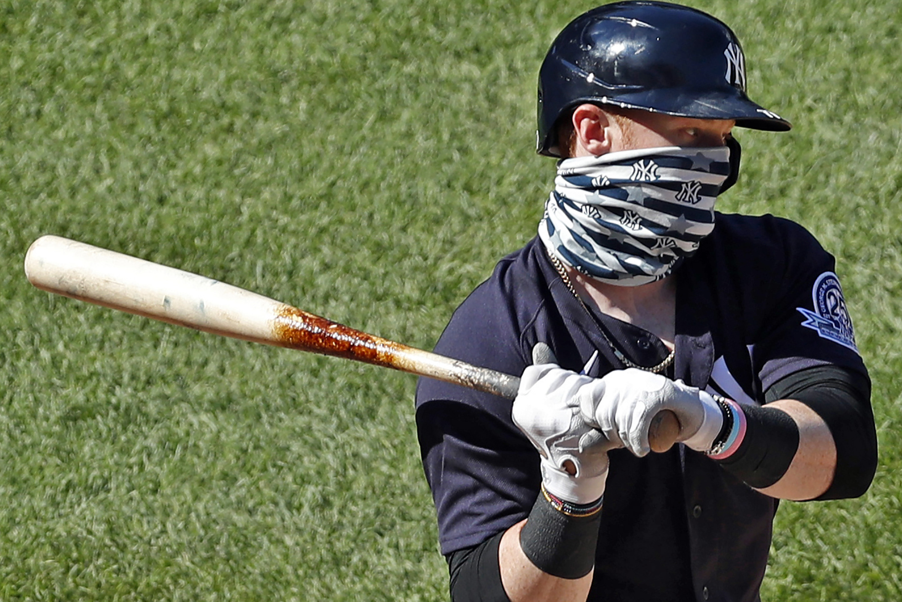 Yankees' Clint Frazier Says He Was Criticized for Wearing Mask Amid  Pandemic | Bleacher Report | Latest News, Videos and Highlights