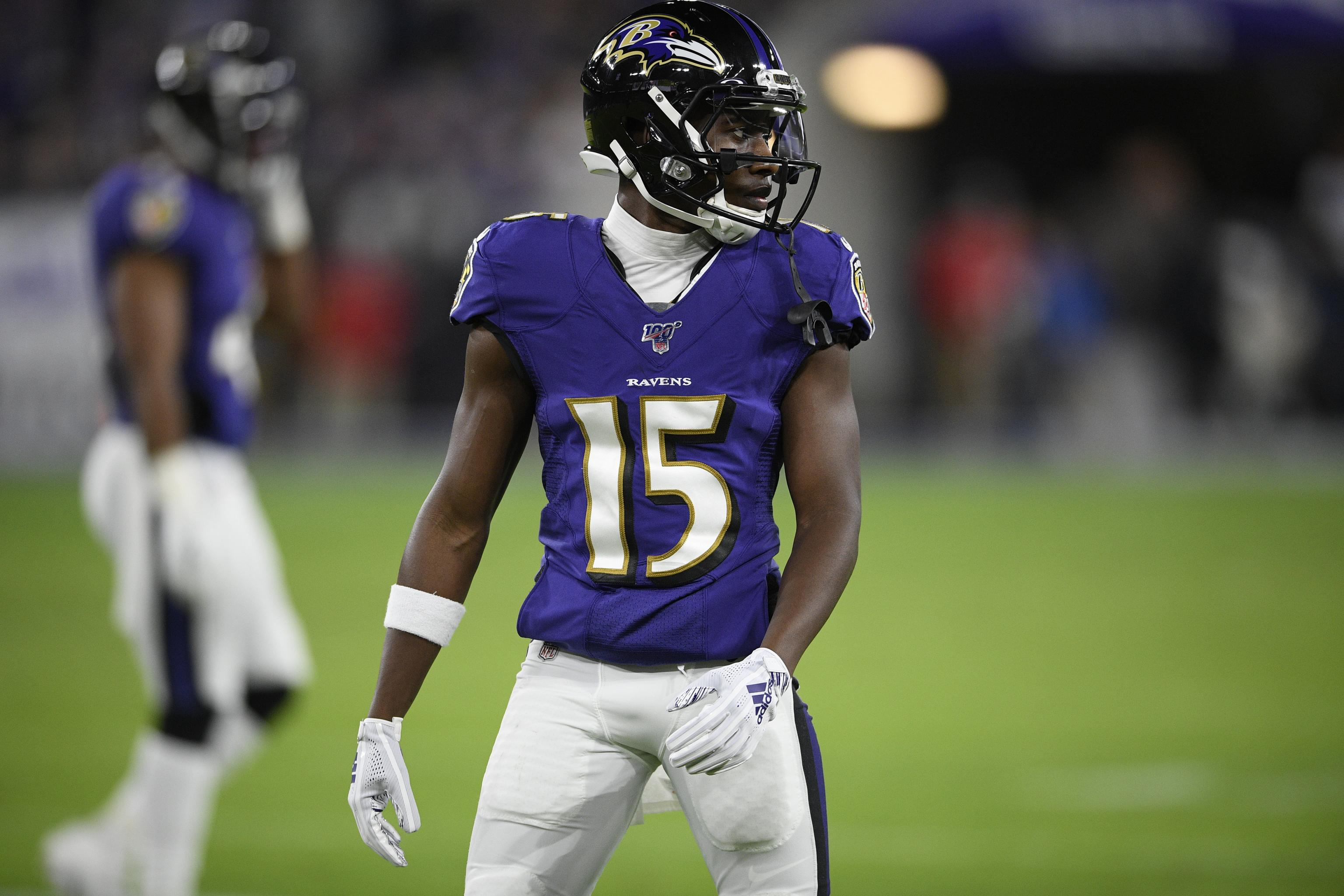 Report: Ravens Believe Marquise Brown 'Ready to Become a Feared Front-Line' WR | Bleacher Report | Latest News, Videos and Highlights