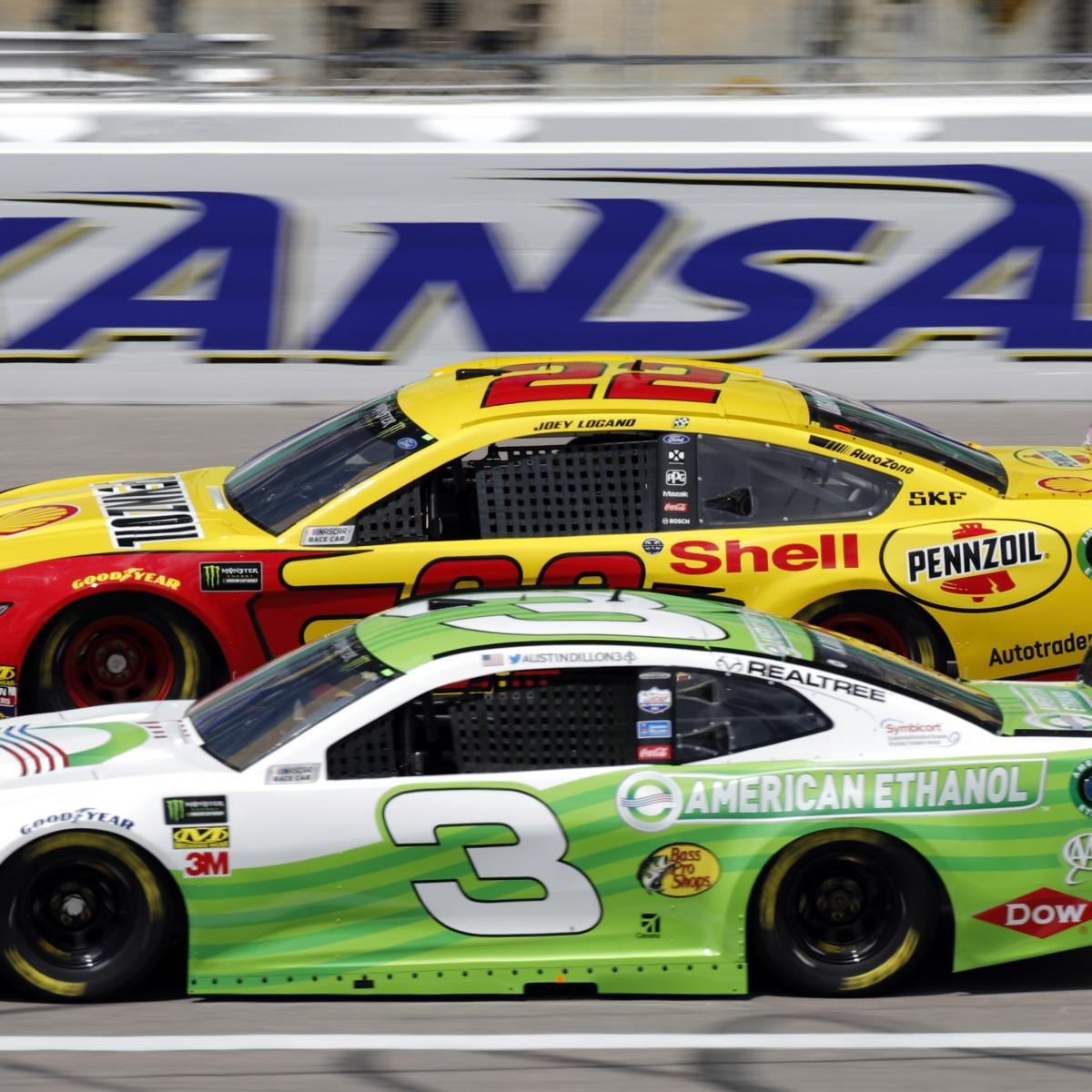 NASCAR at Kansas 2020: Odds, TV Schedule, Live Stream and Drivers