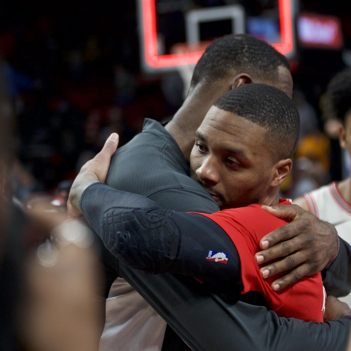Damian Lillard Picks Lakers' LeBron James for NBA MVP After 'Dominant' Season
