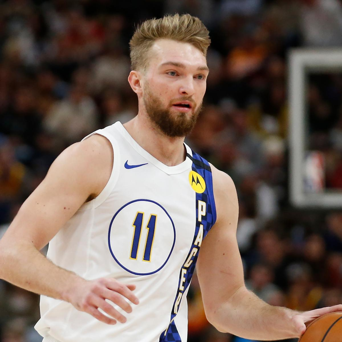 Pacers' Domantas Sabonis Leaving NBA Bubble with Serious Foot Injury