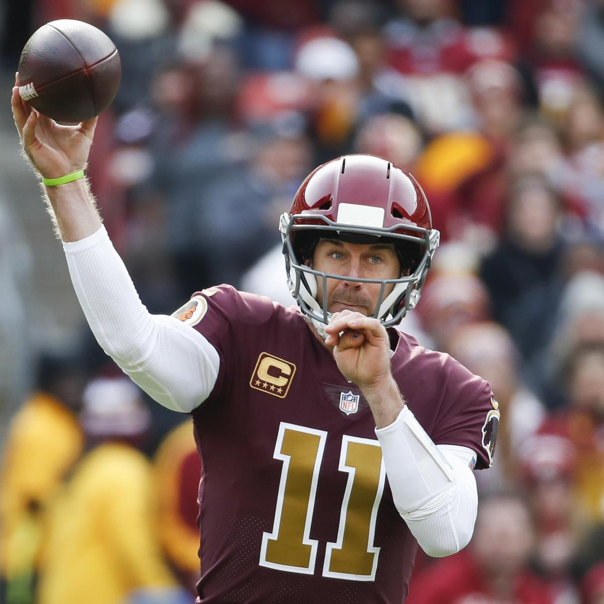 Washington QB Alex Smith Cleared to Return Two Years After