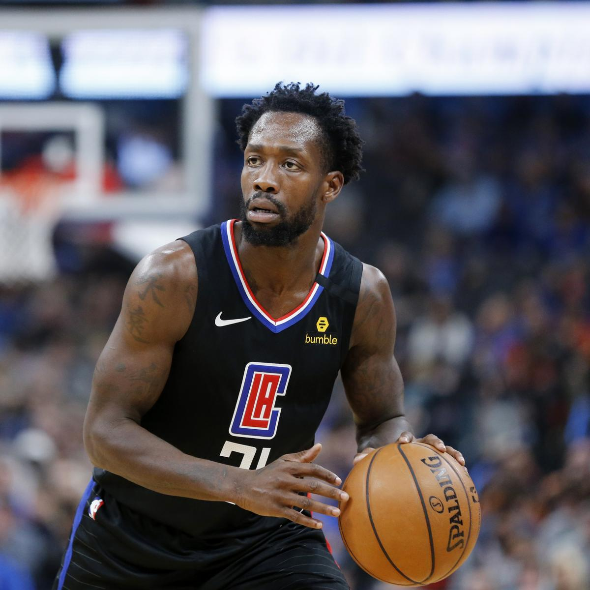 NBA Beverley Bubble  Clippers Patrick in Report: Rejoins