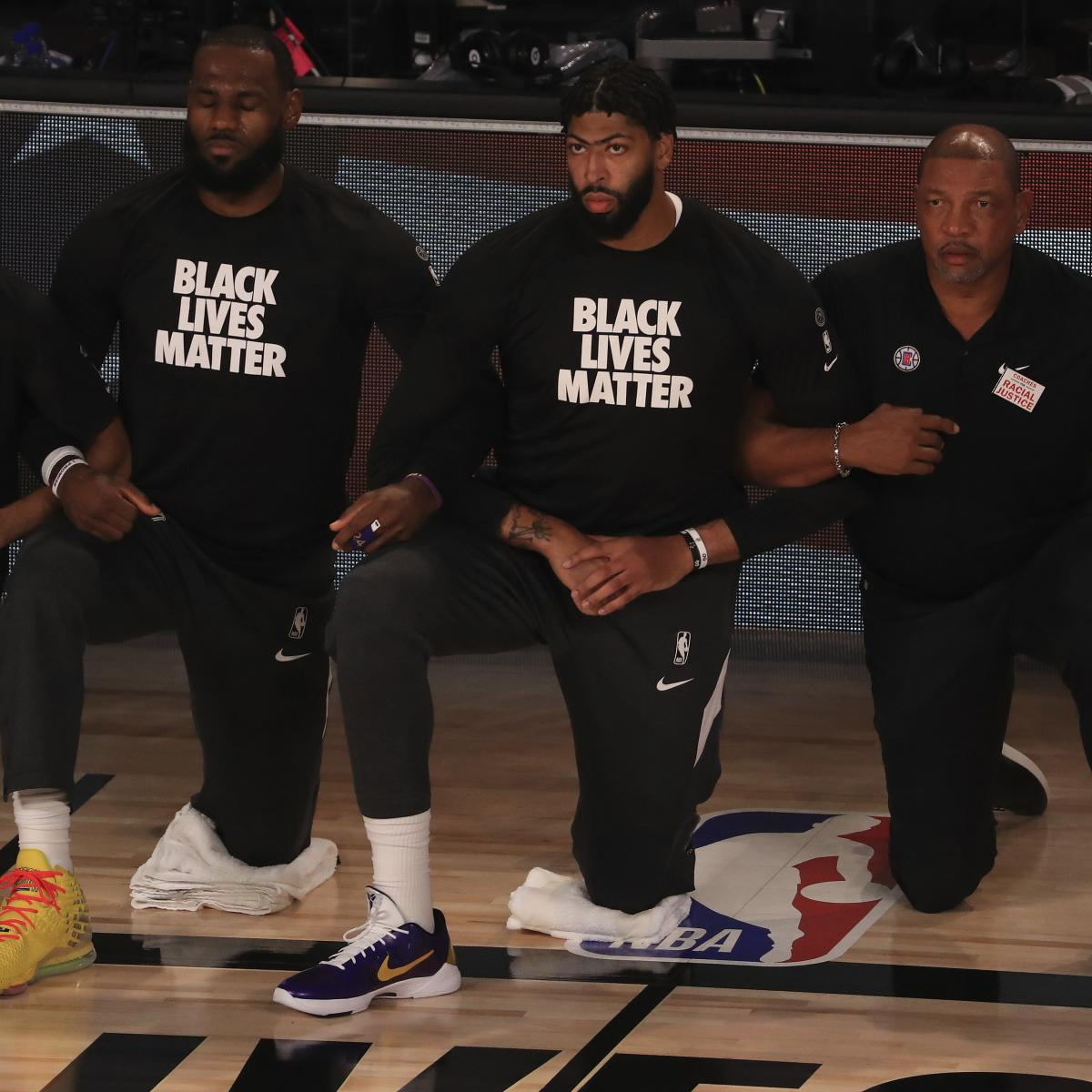 LeBron James: I Hope We Made Colin Kaepernick 'Proud' by Kneeling During Anthem – Bleacher Report