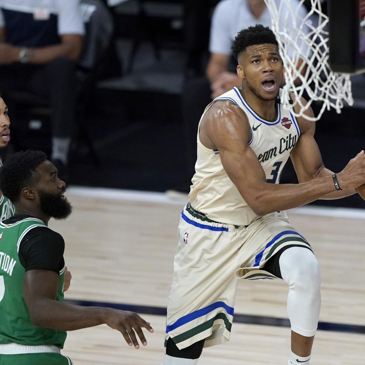 Giannis Antetokounmpo and the Bucks Are Built for the Bubble thumbnail