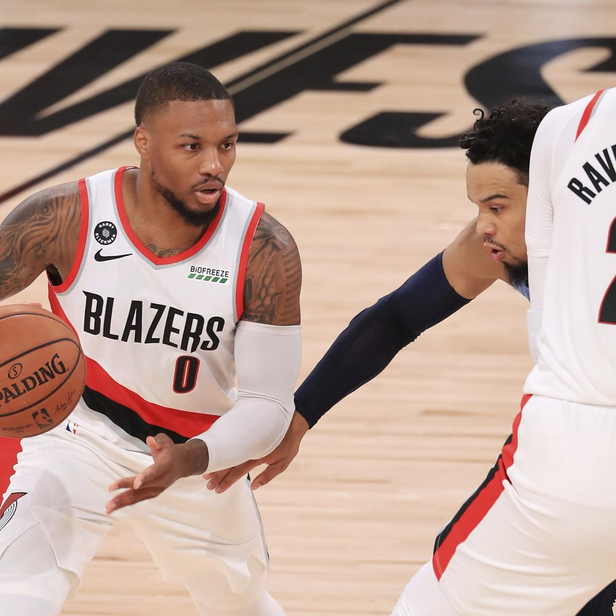 NBA Playoff Standings 2020: Updated Team Records, Seedings and More