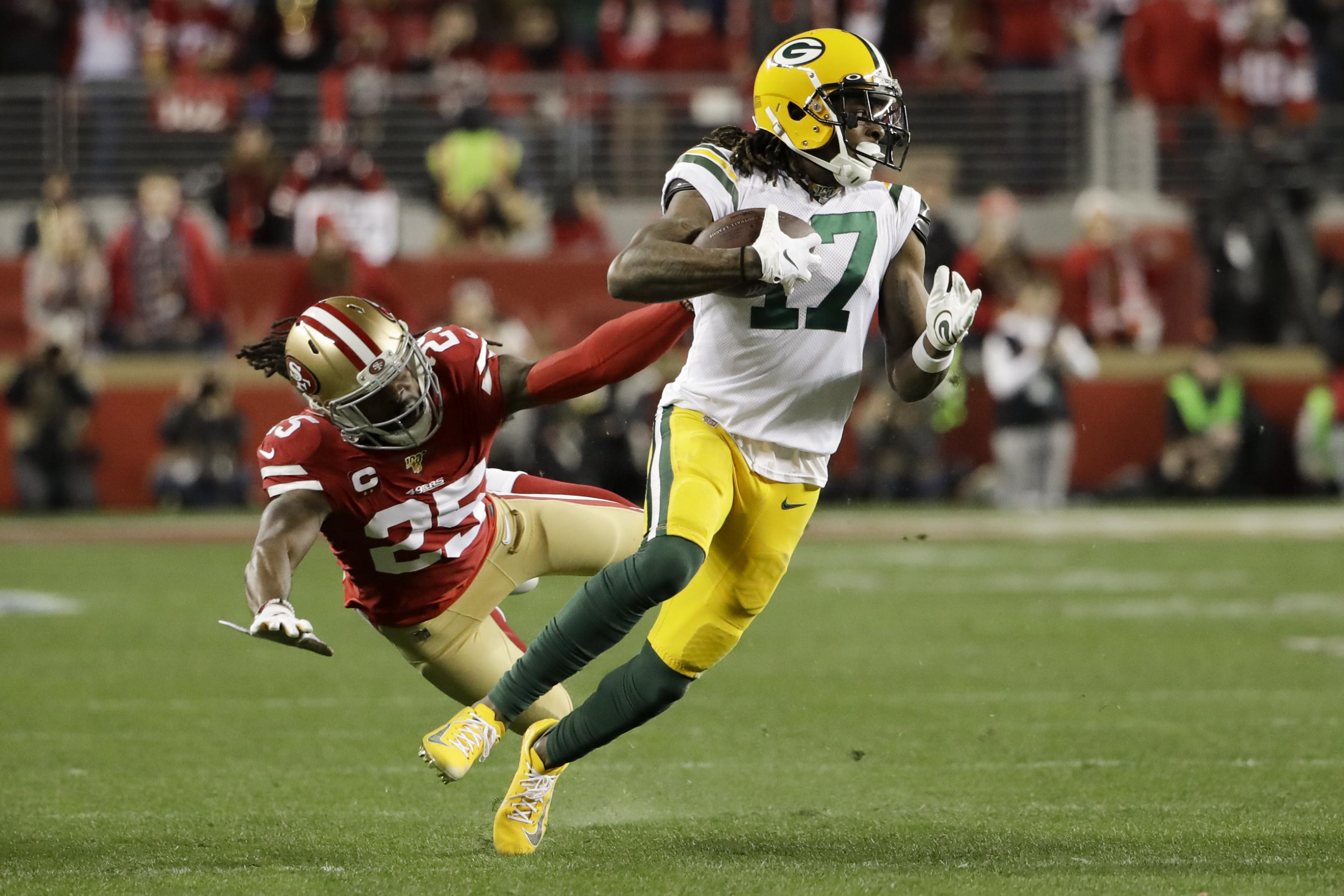 Davante Adams Says Everyone Expected Packers To Take Wr In 2020 Nfl Draft Bleacher Report Latest News Videos And Highlights