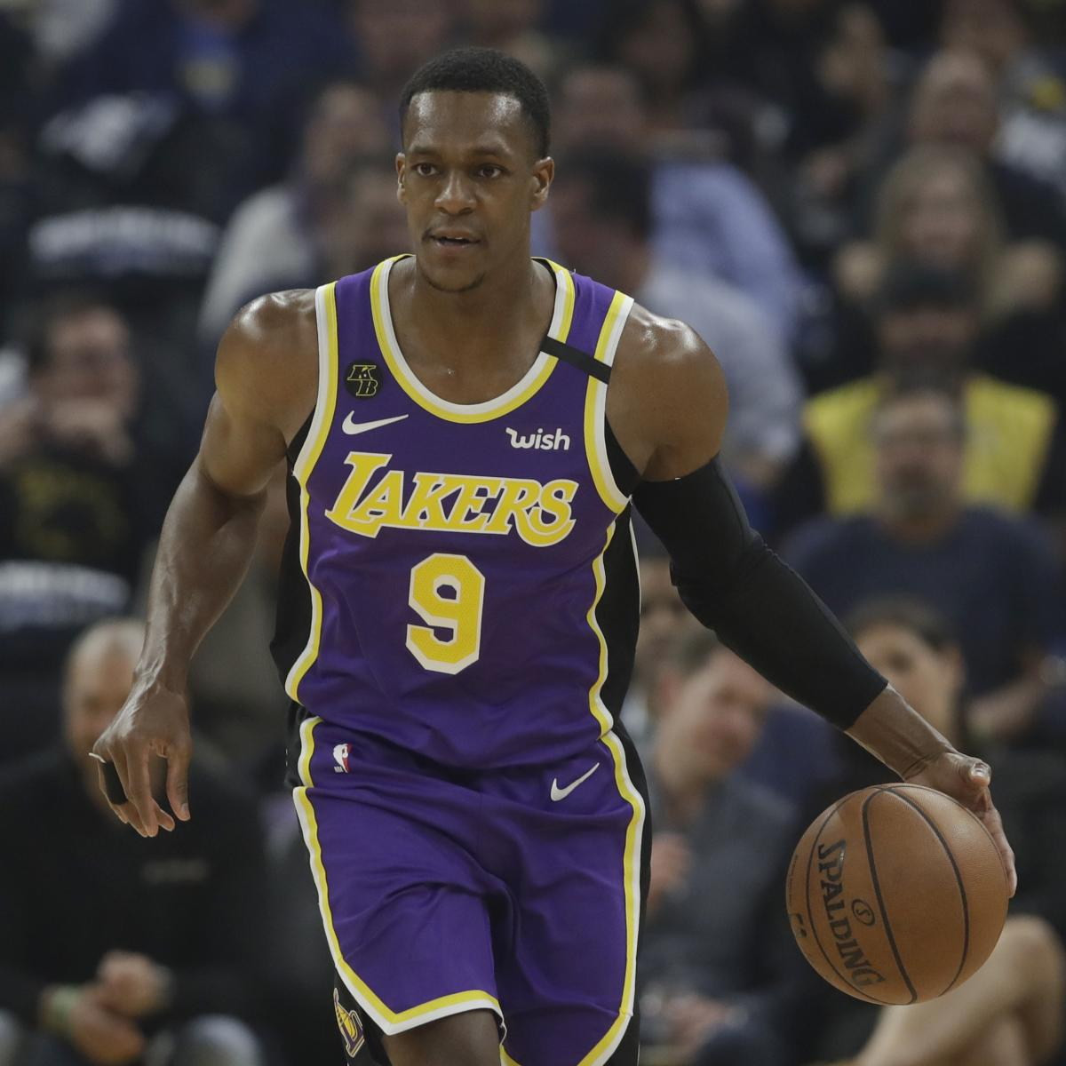 Lakers News: Rajon Rondo to Rejoin Team in NBA Bubble 'Very Soon' After Injury