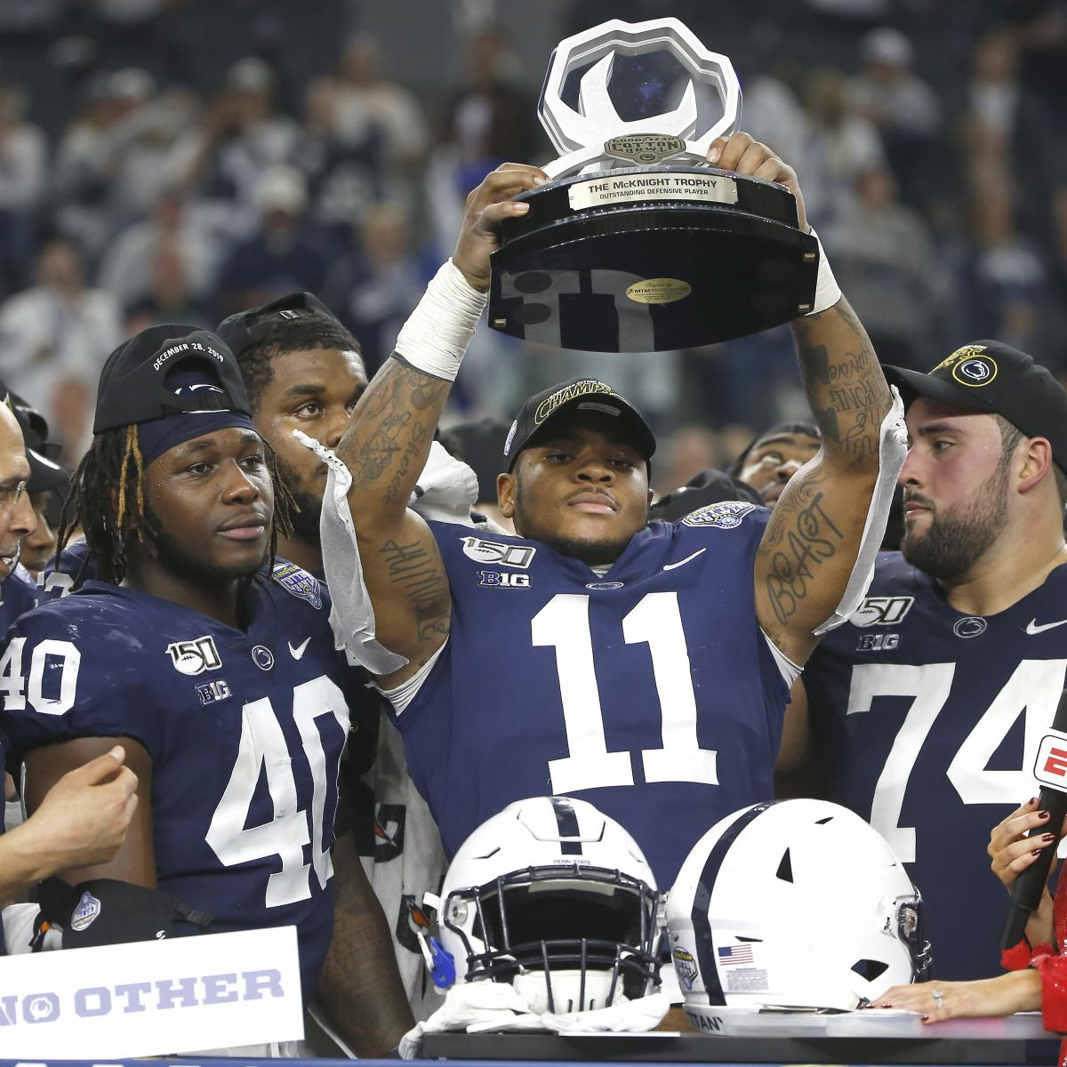 Report: Penn State's Micah Parsons to Opt Out of 2020 Season thumbnail