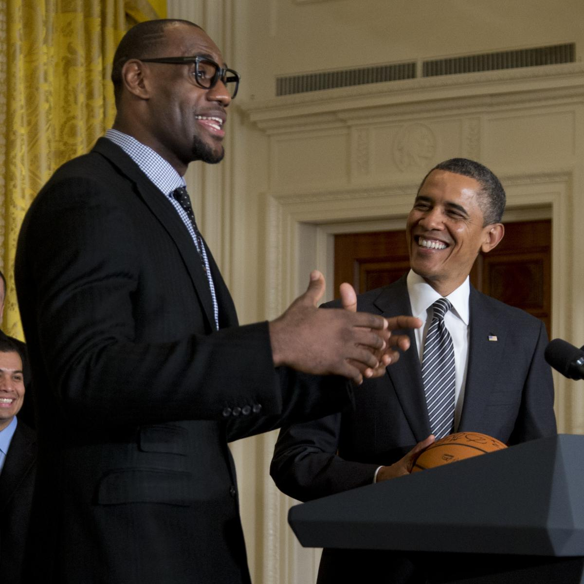 Lakers' LeBron James Wishes 'My Friend' Barack Obama Happy Birthday on Twitter thumbnail