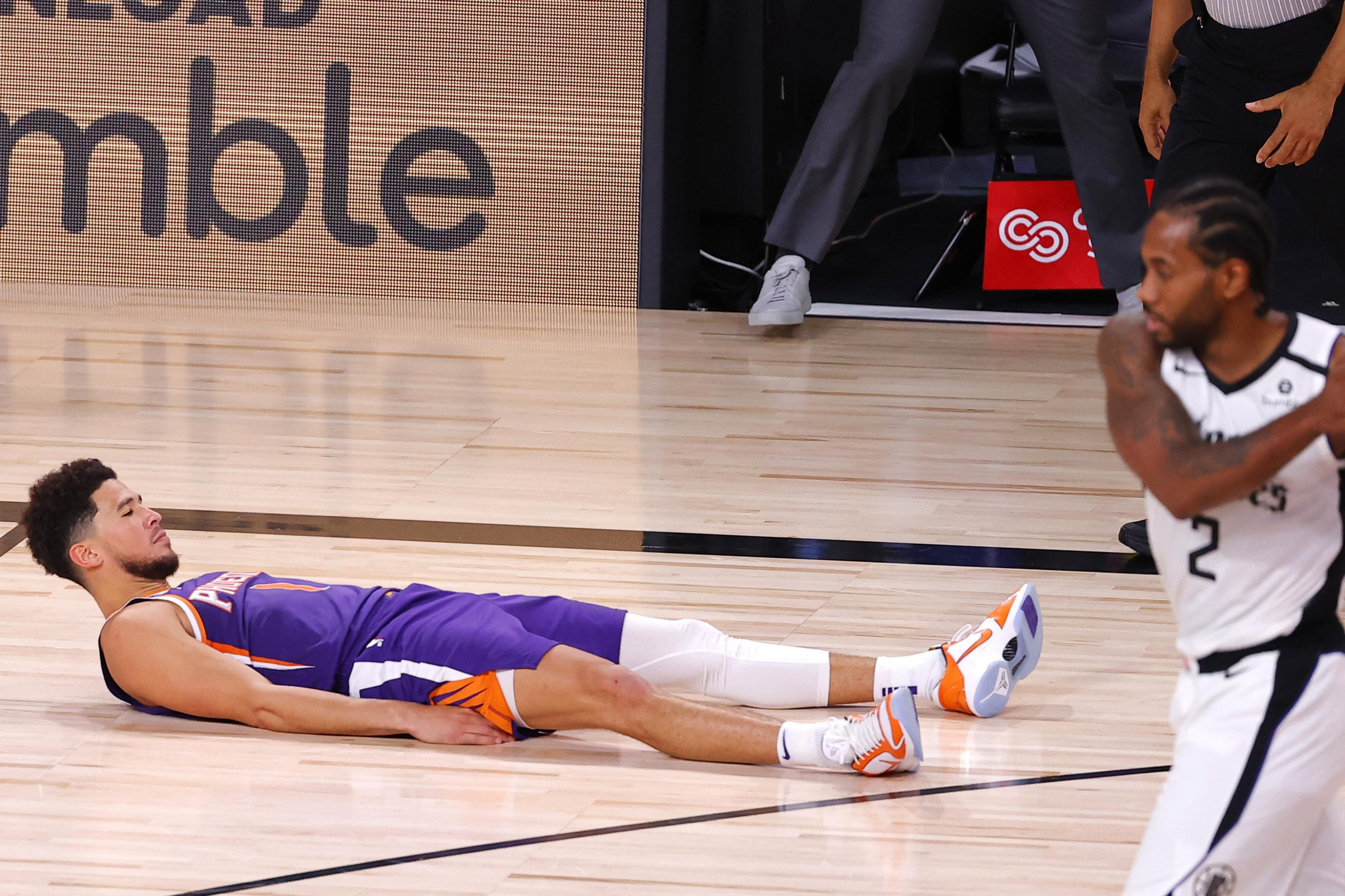 Suns' Devin Booker on Game-Winning Photo: 'I'm Not a Big Celebration Guy' | Bleacher Report | Latest News, Videos and Highlights