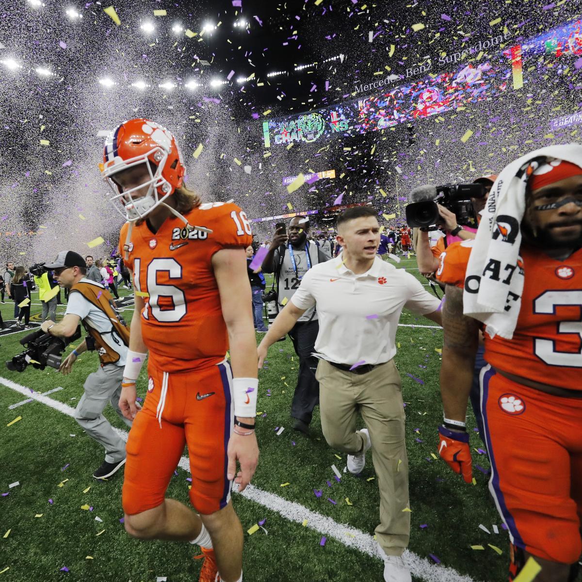 NCAA Football Preseason Rankings 2020: Expert Reactions to ...