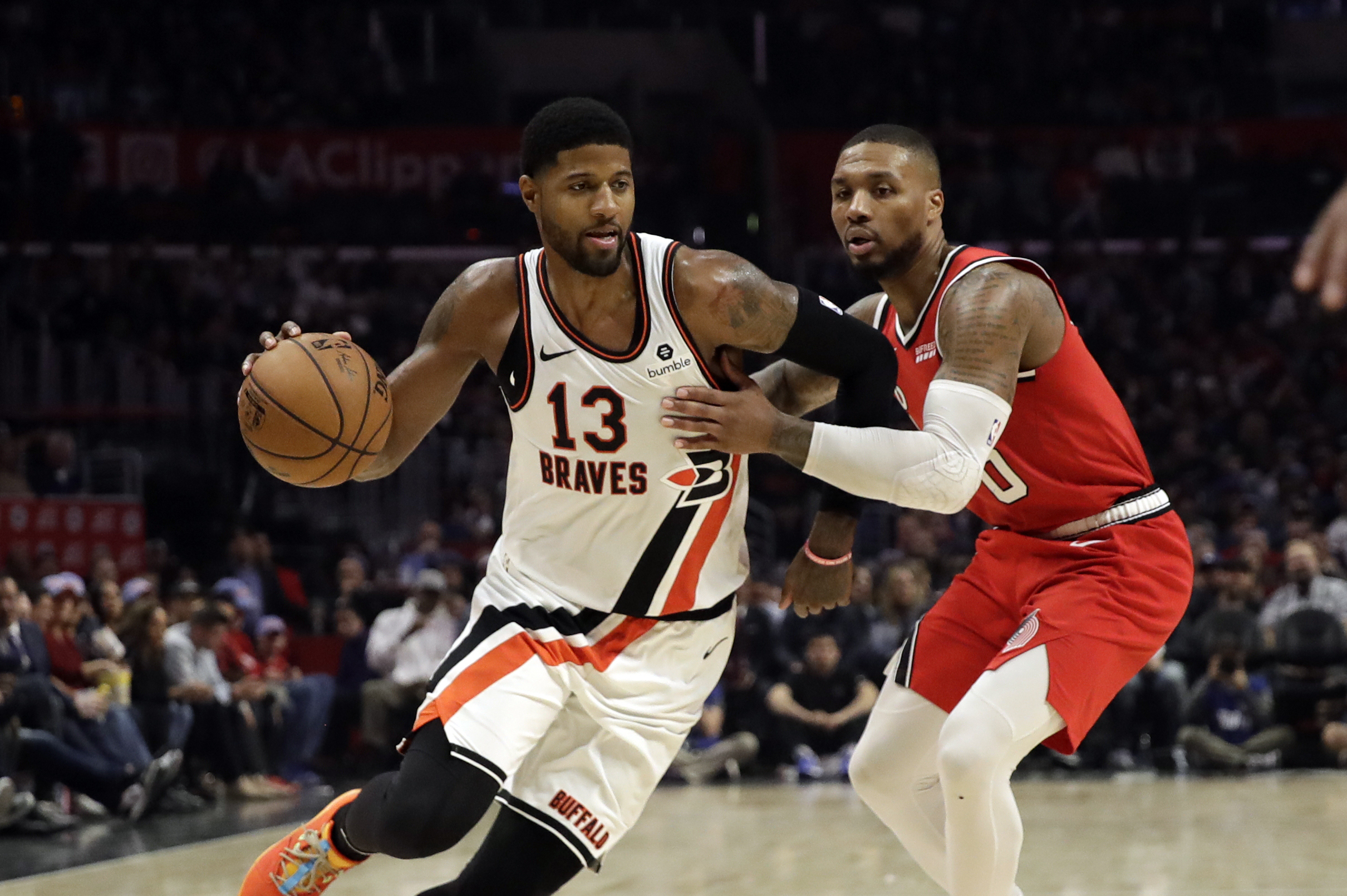 Report Paul George Reached Out To Damian Lillard To Clear Air After Online Beef Bleacher Report Latest News Videos And Highlights