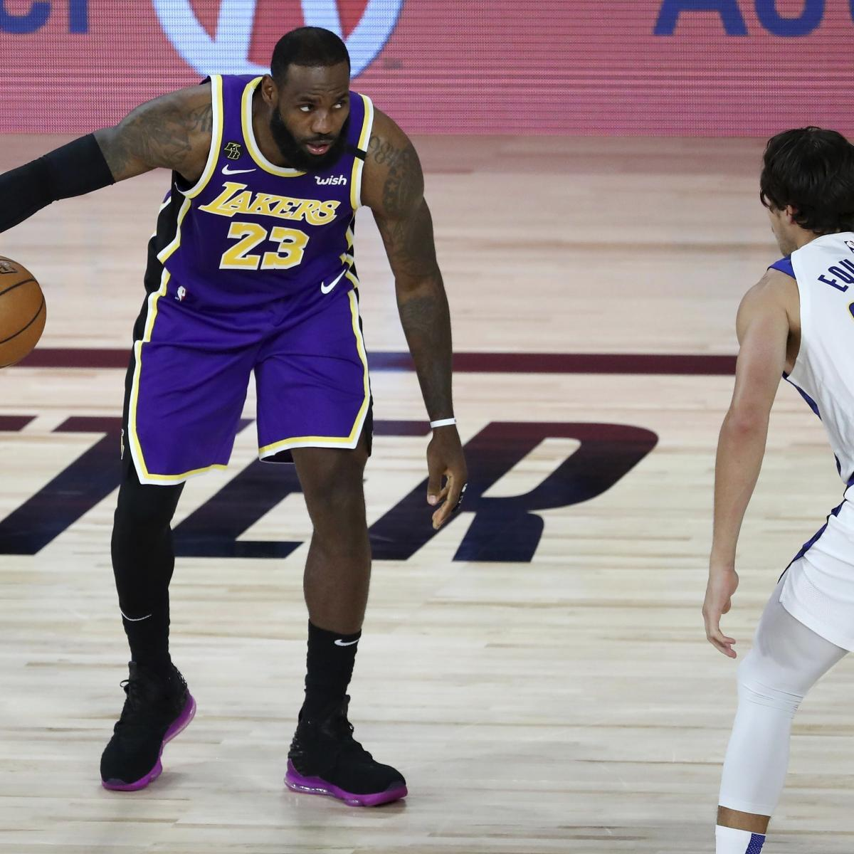 NBA Playoffs 2020: Postseason Schedule, Bracket Format and Odds
