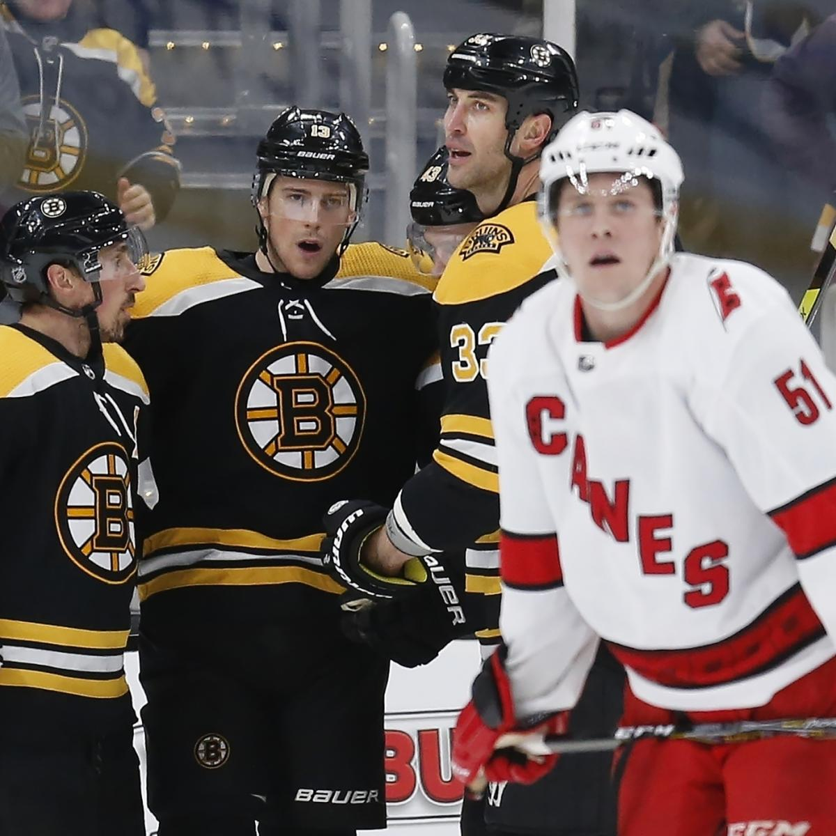 Sean Kuraly's Short-Handed Goal Leads Bruins Past Hurricanes in Game 3 thumbnail