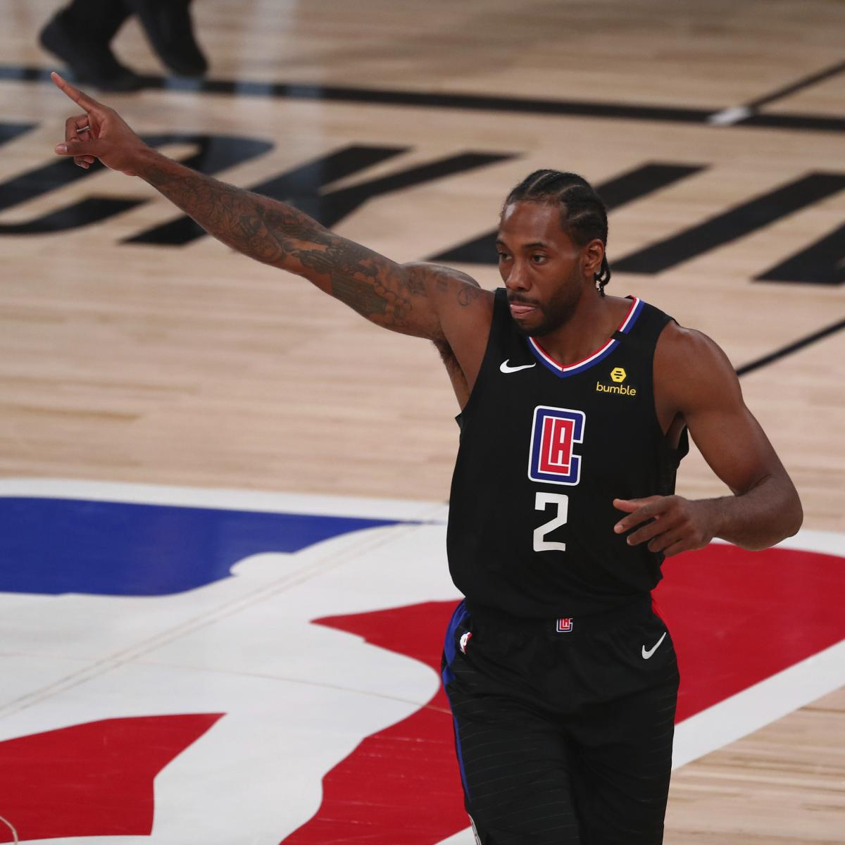 NBA Playoffs 2020: Odds, Schedule, Game Times, Predictions for 1st-Round Bracket