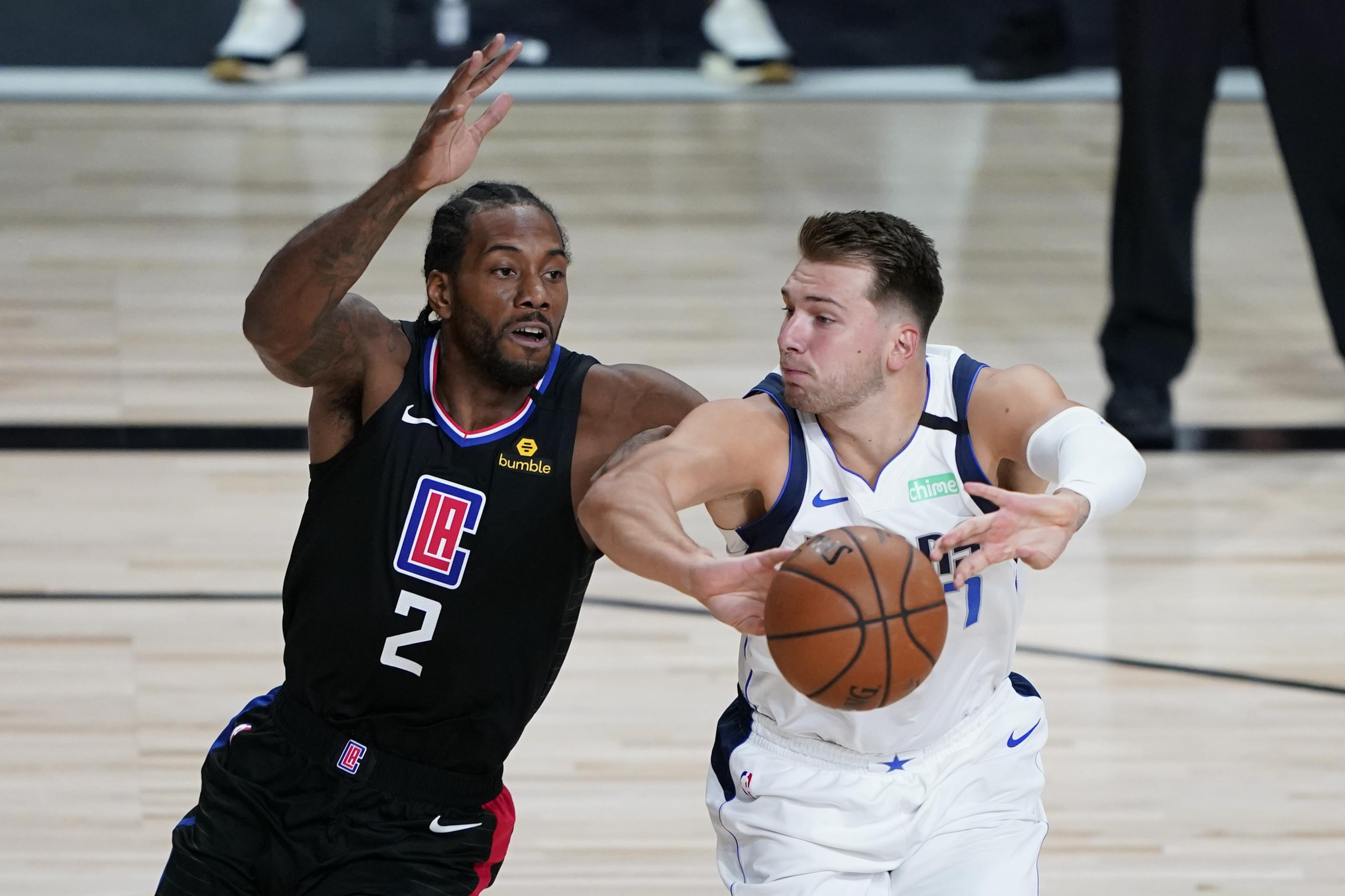 Luka Doncic Leads Mavericks to Game 2 Win vs. Kawhi Leonard, Clippers |  Bleacher Report | Latest News, Videos and Highlights