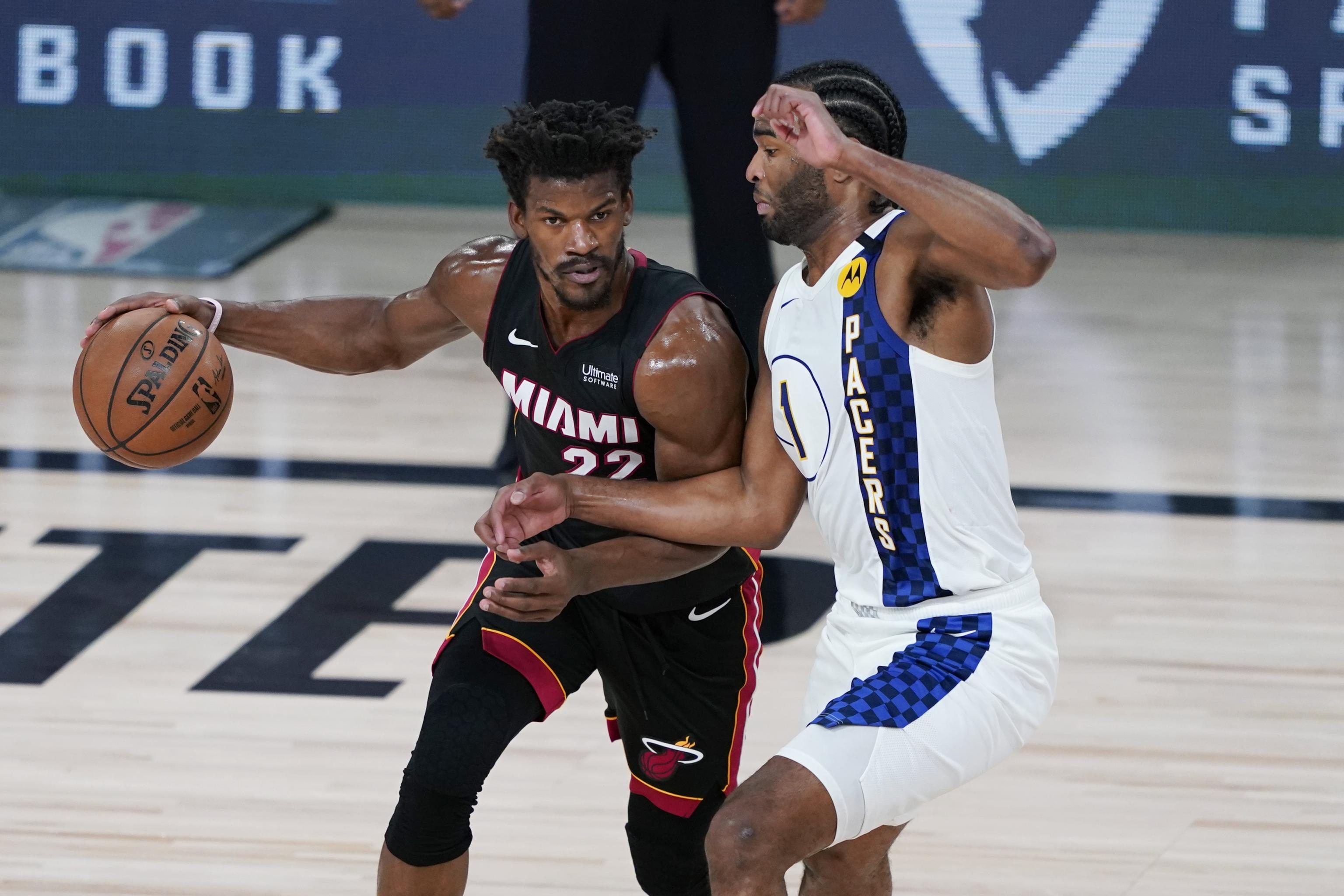 Jimmy Butler Stars As Heat Win Game 3 Push Pacers To Brink Of Elimination Bleacher Report Latest News Videos And Highlights