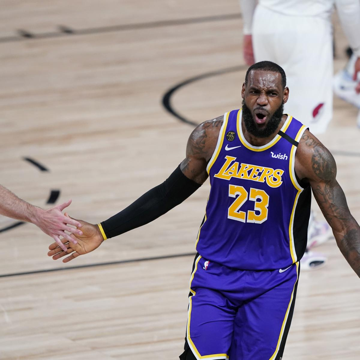 NBA Playoffs 2020: Postseason Odds, Standings, Bracket Results and Highlights