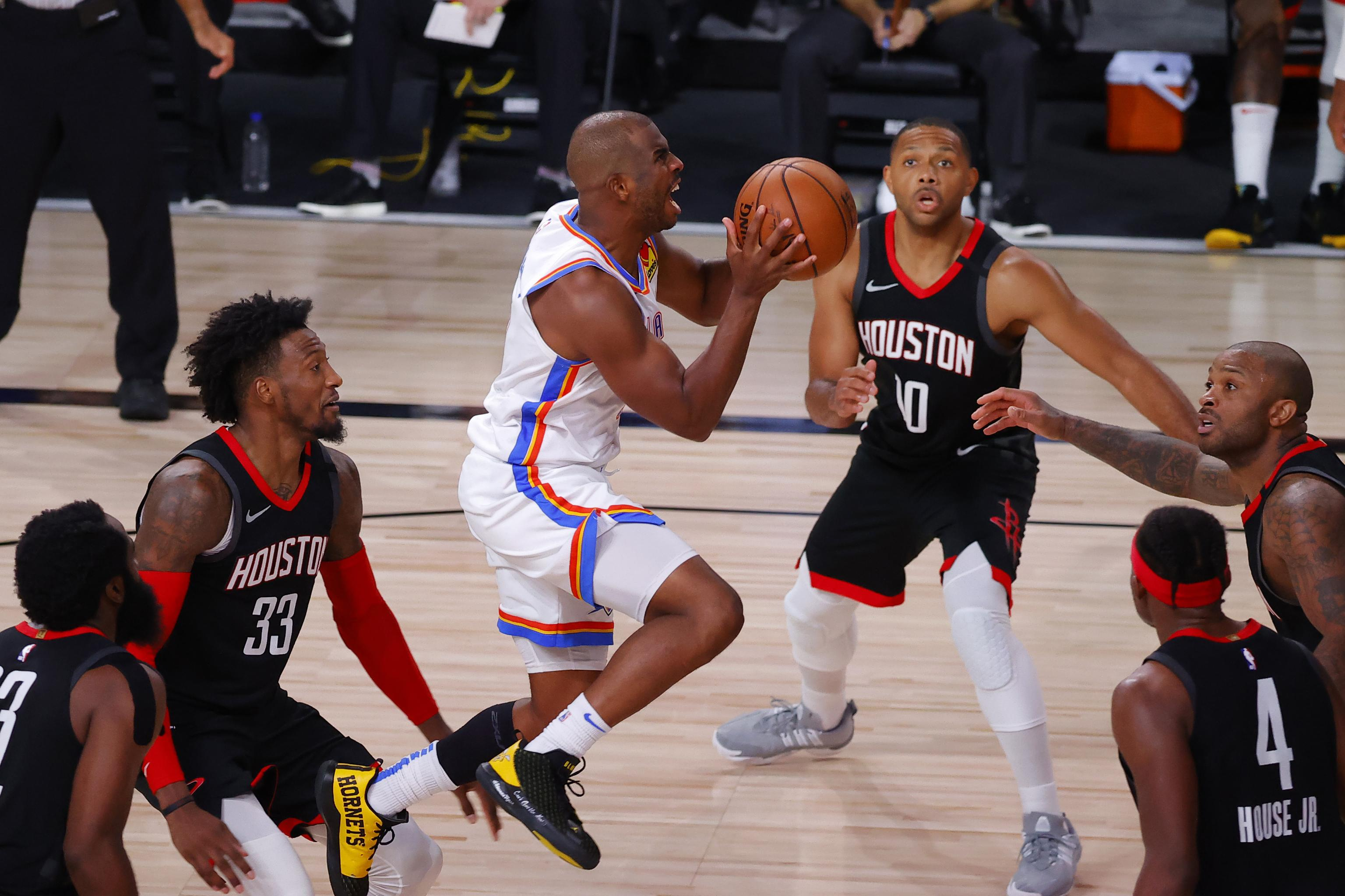 Chris Paul, Thunder Rally to Beat James Harden, Rockets in Game 4 to Even  Series | Bleacher Report | Latest News, Videos and Highlights