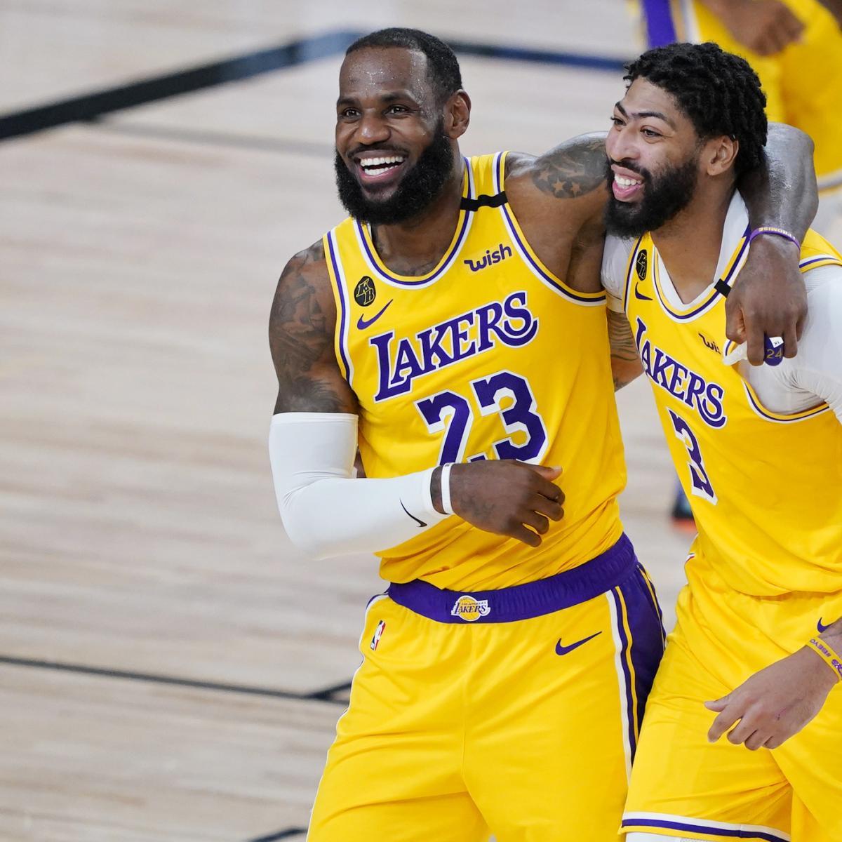 NBA Playoff Schedule 2020: Updated Bracket Dates, TV ...