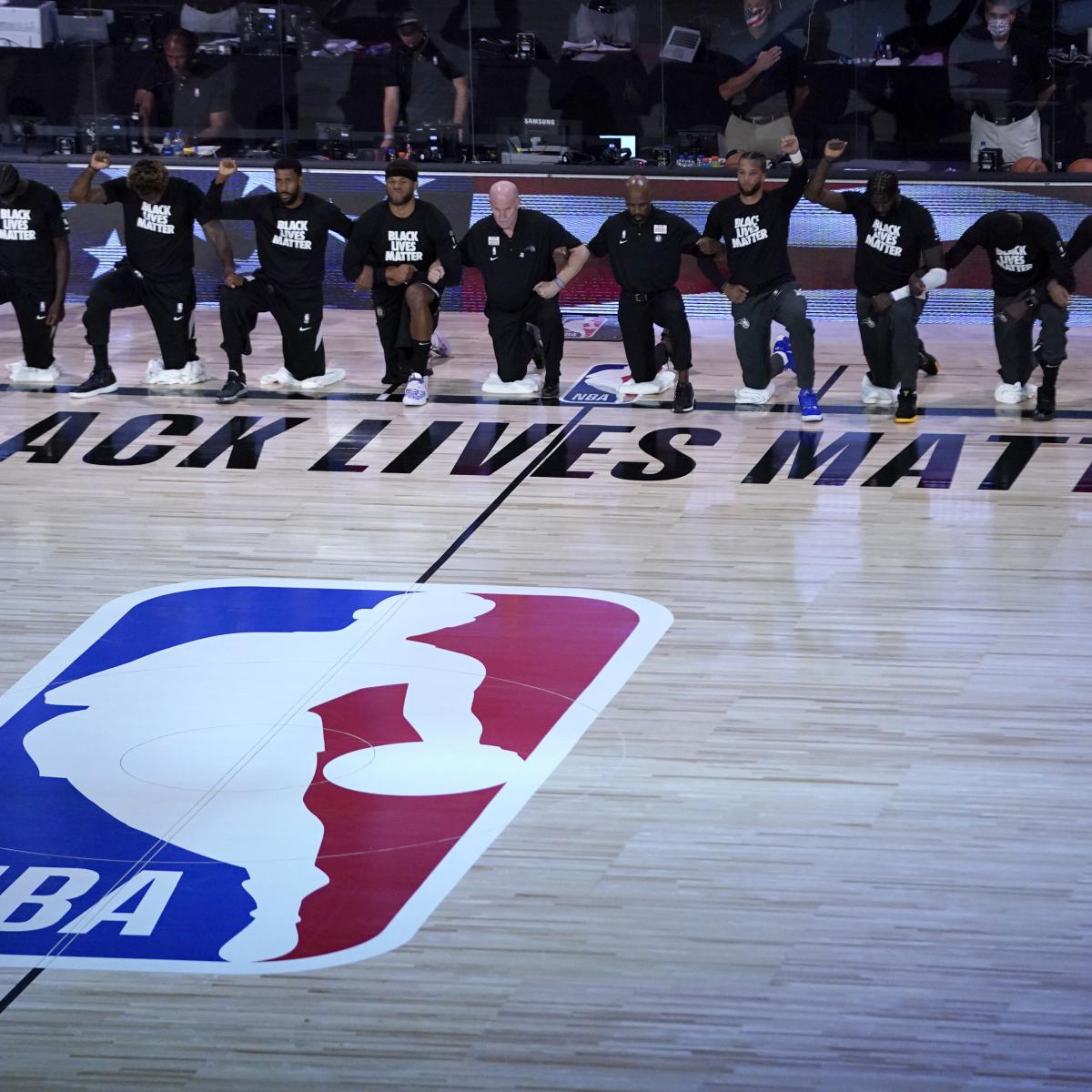 NBA Players Will Resume 2020 Playoffs; Thursday Games to Be Postponed