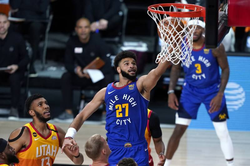 Jamal Murray Scores 50 as Nuggets Defeat Donovan Mitchell, Jazz to Force Game 7 | Bleacher Report | Latest News, Videos and Highlights
