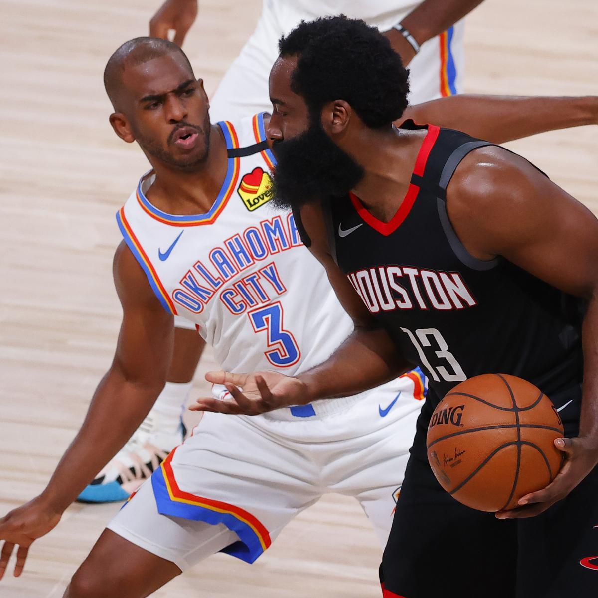 B/R NBA Staff: Chris Paul's Revenge, Thunder-Rockets Game 7 Predictions