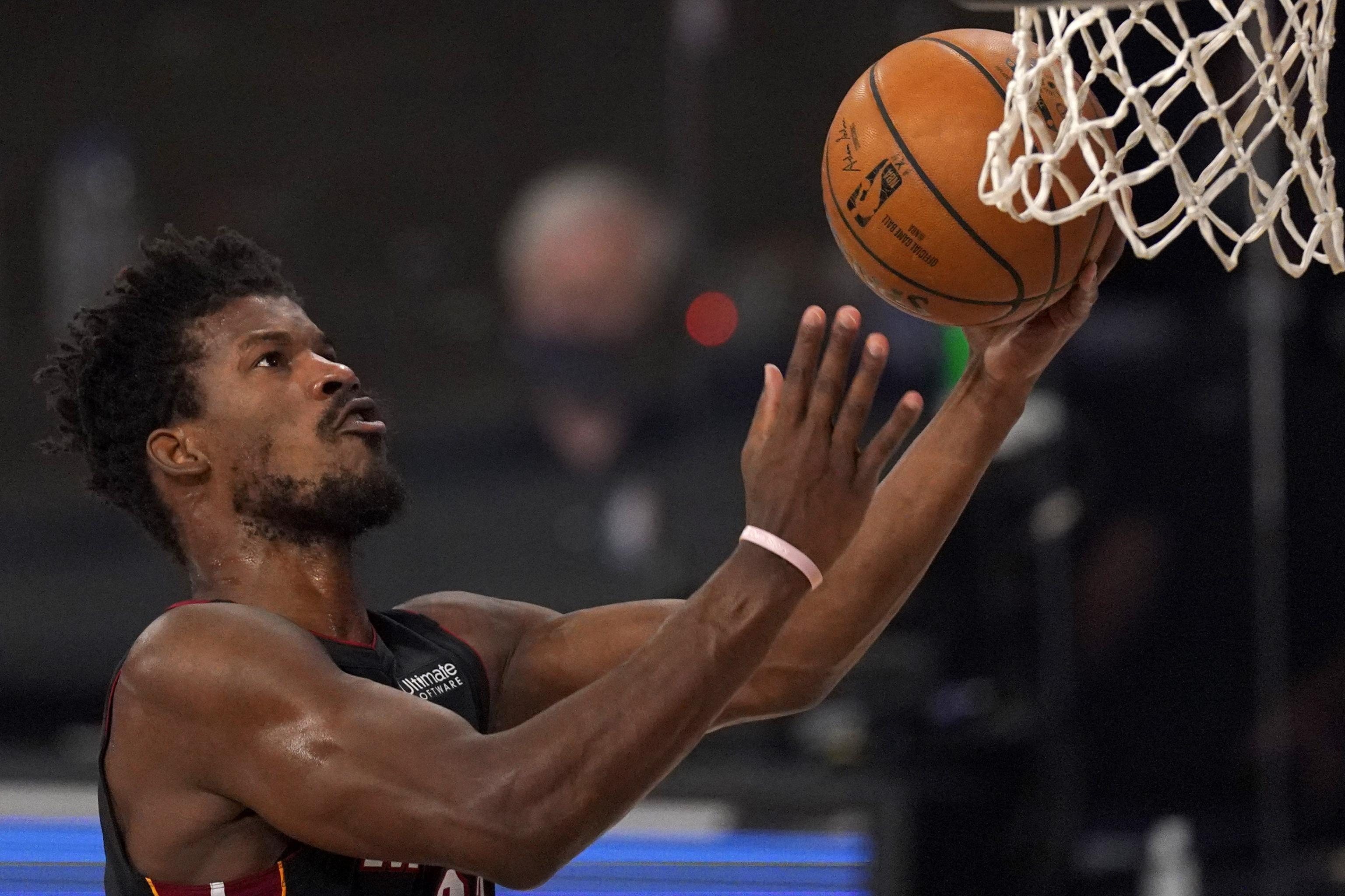 Jimmy Butler Not Surprised Giannis Didn T Guard Him In Bucks Vs Heat Game 1 Bleacher Report Latest News Videos And Highlights