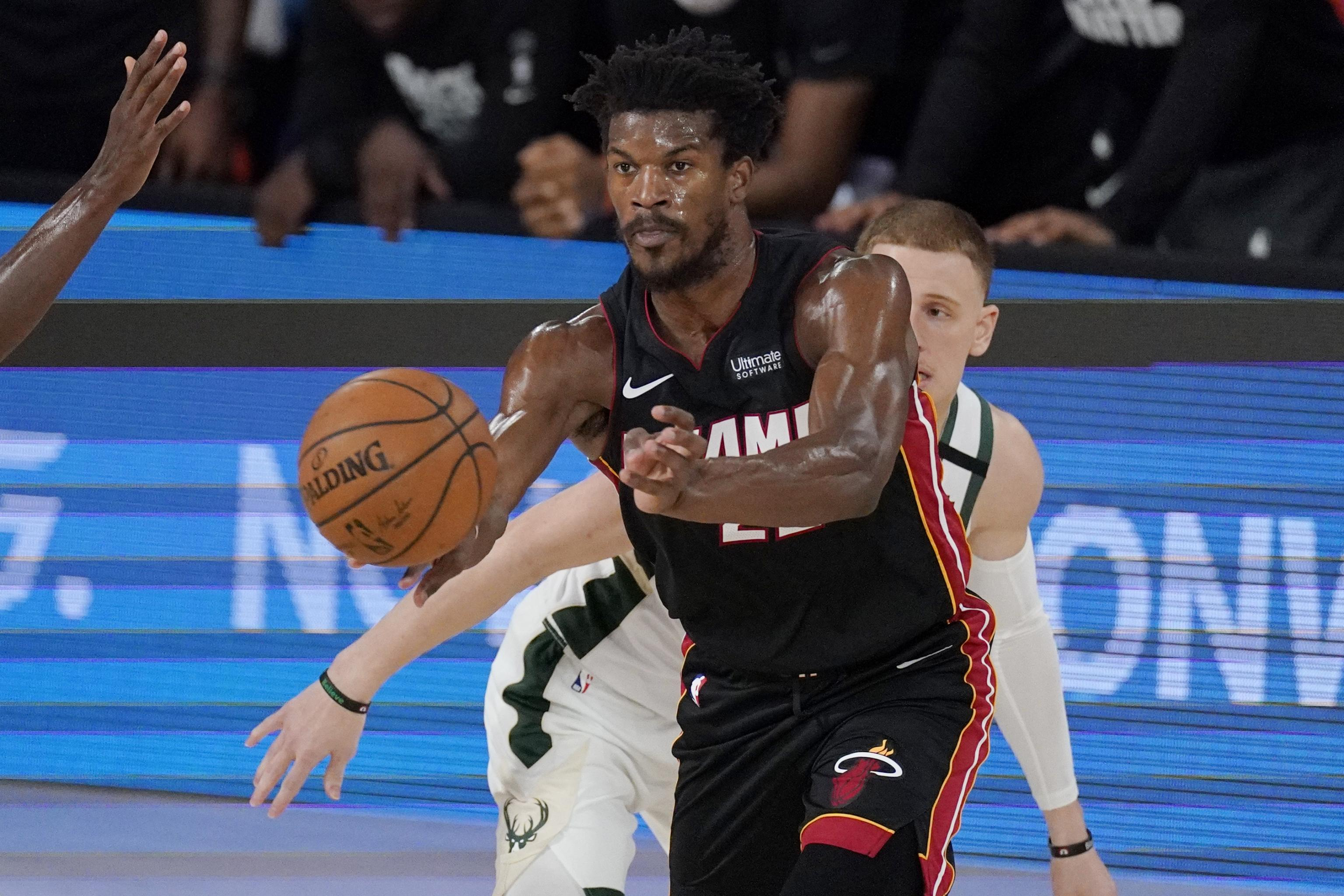 Jimmy Butler Heat Take 3 0 Series Lead With Game 3 Win Vs Giannis Bucks Bleacher Report Latest News Videos And Highlights