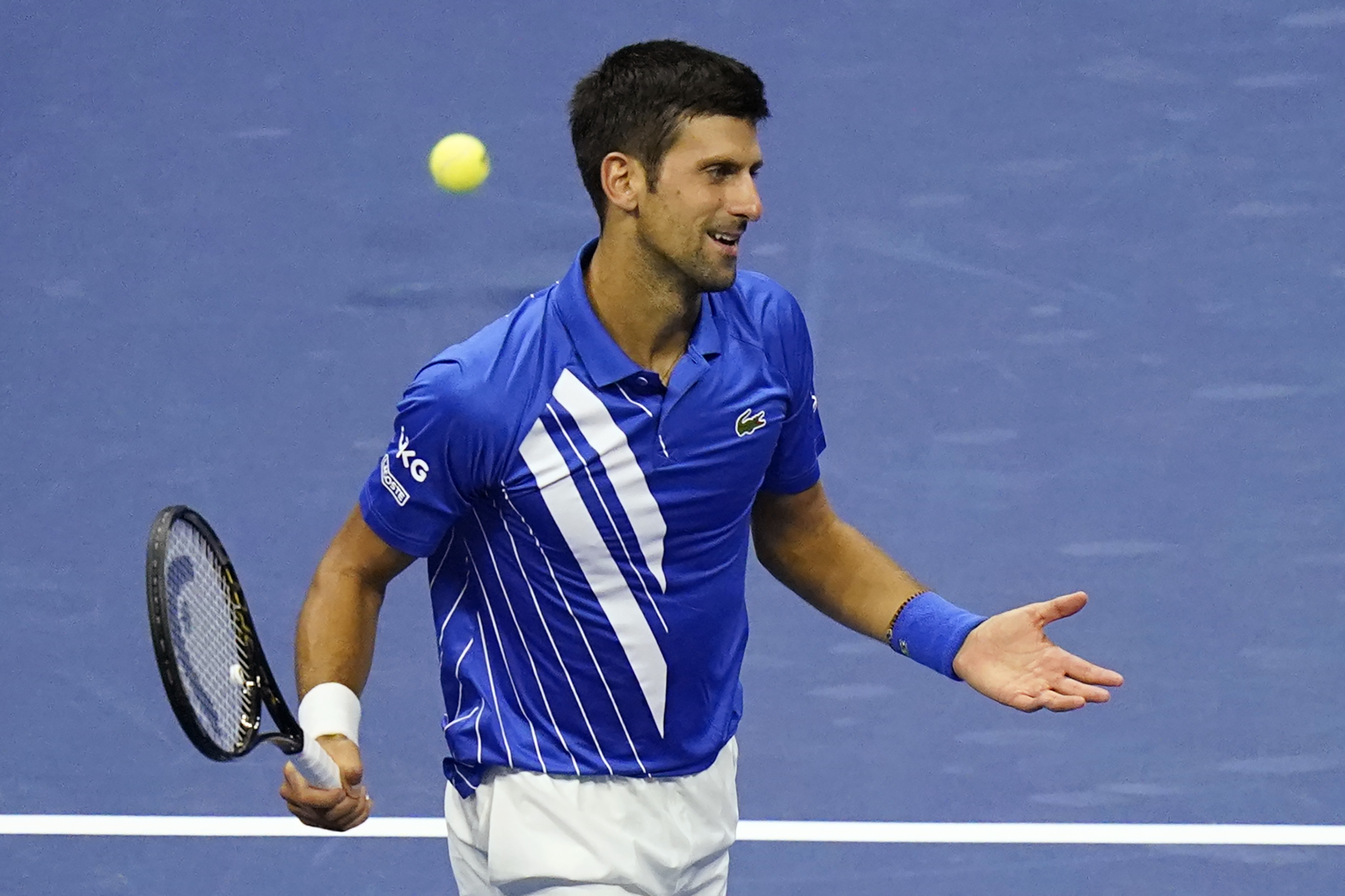 Novak Djokovic Dq D From 2020 Us Open Accidentally Hit Line Judge With Ball Bleacher Report Latest News Videos And Highlights