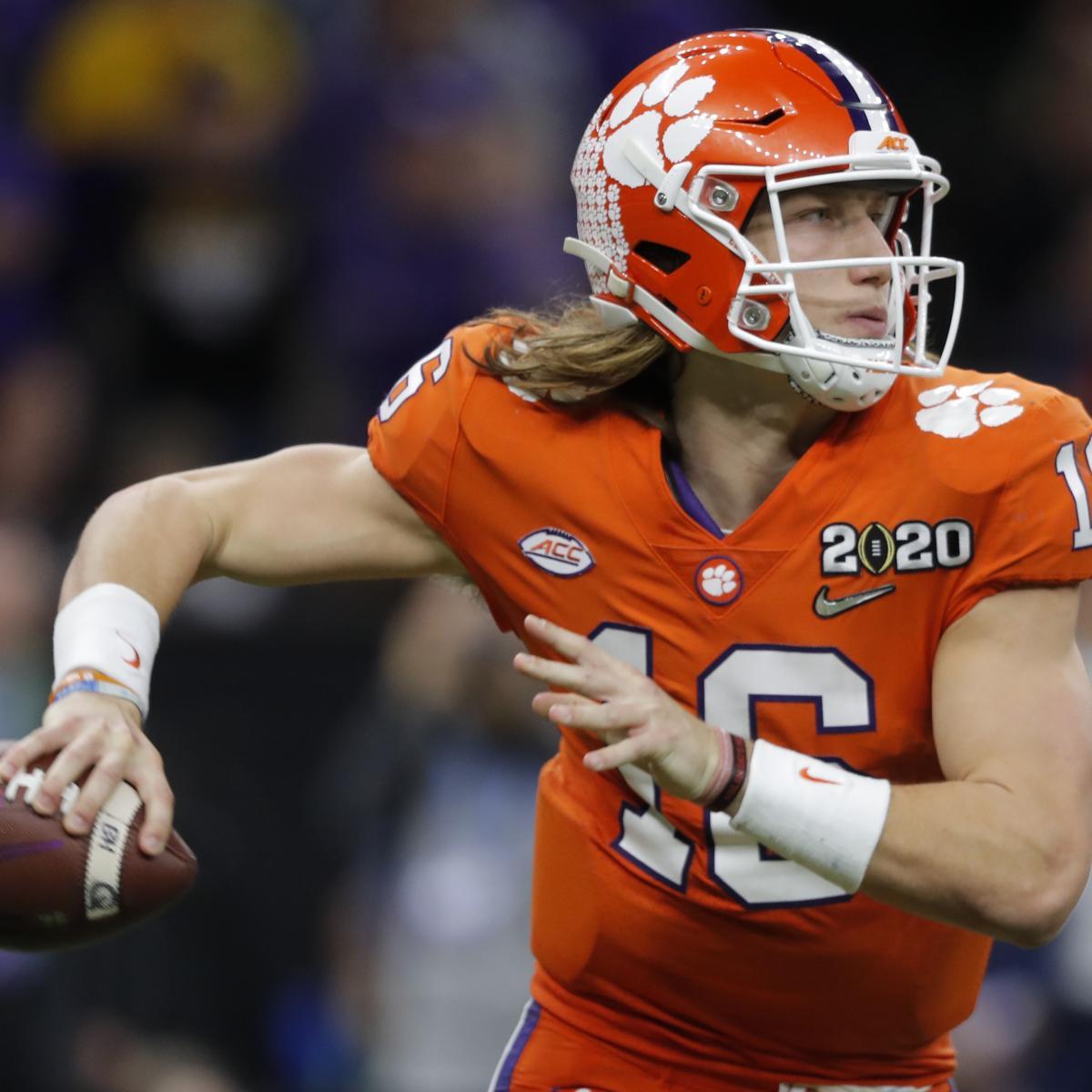 2021 NFL Mock Draft: Latest Breakdown Before Week 1 thumbnail