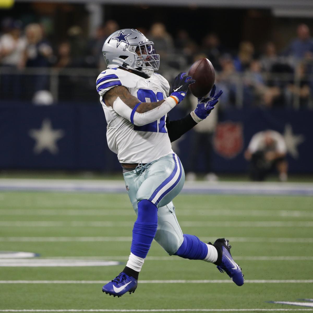 Cowboys News: Ezekiel Elliott, Tony Pollard to Be Used as 'Receiver Types' thumbnail