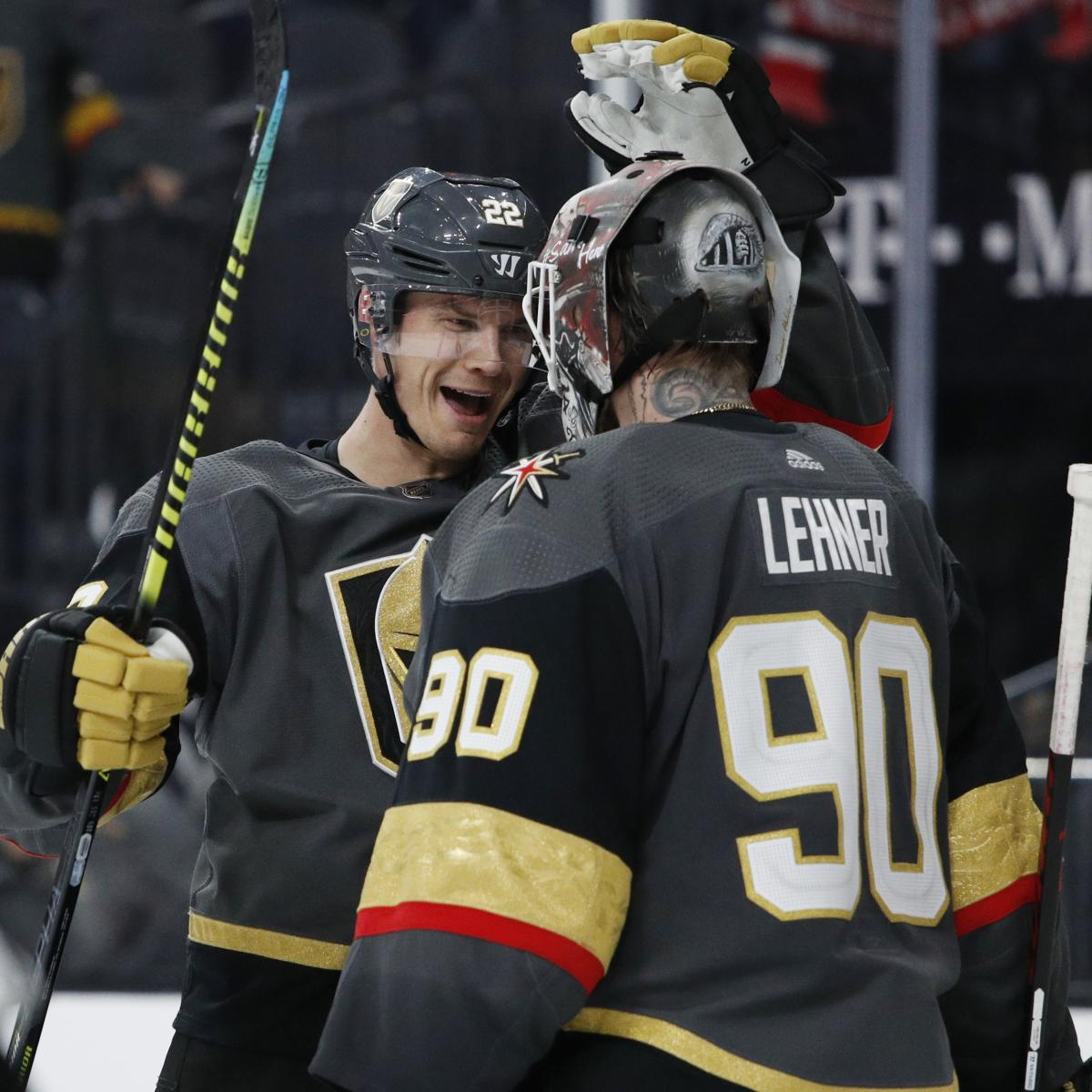 Golden Knights Shutout Stars in Game 2, Even 2020 NHL Playoff Series at 1-1 thumbnail