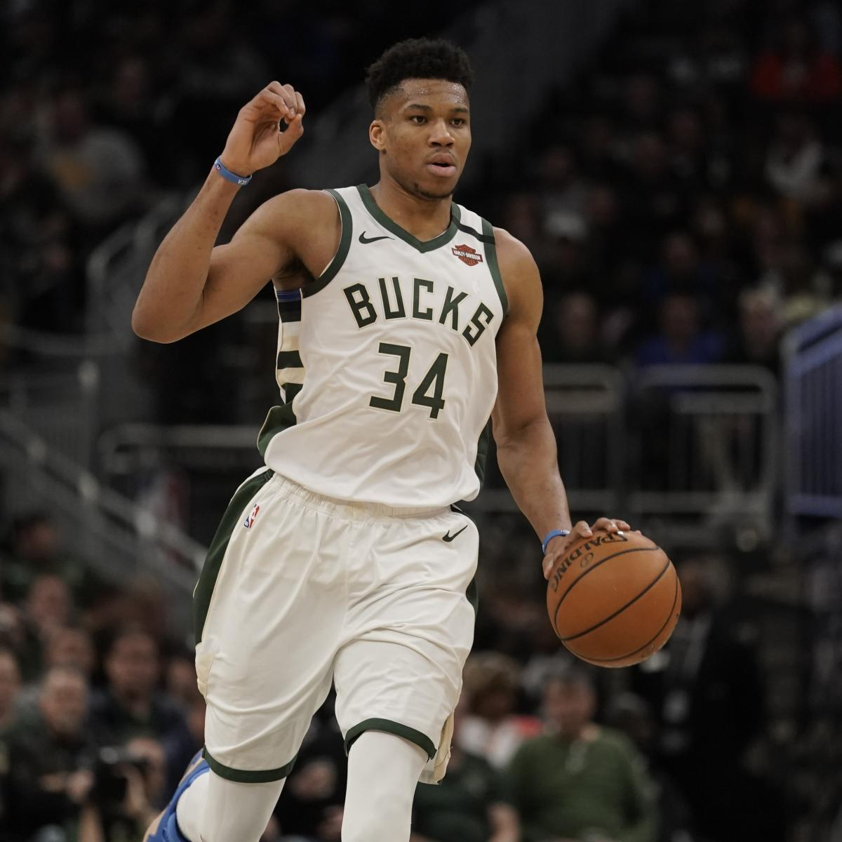 Giannis Antetokounmpo Rumors: Warriors Clippers Raptors Heat Mavs Linked – Bleacher Report
