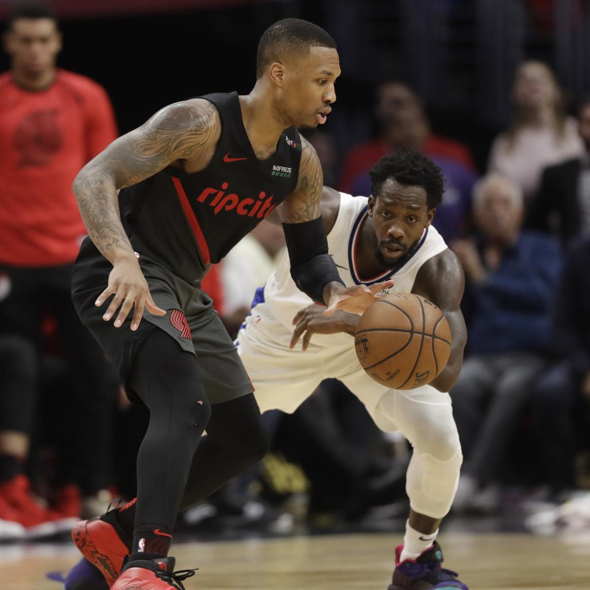 Damian Lillard Trolls Pat Beverley with Vacation Offer After Clippers Loss thumbnail