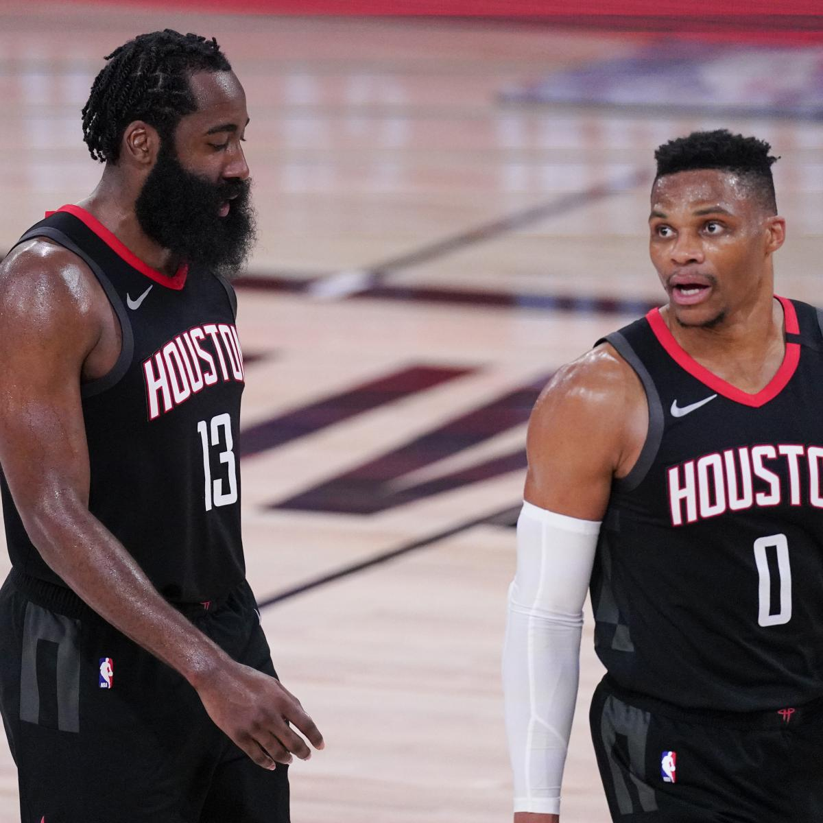 NBA Execs Weigh in on Potential Harden, Westbrook Trades for Houston Rockets