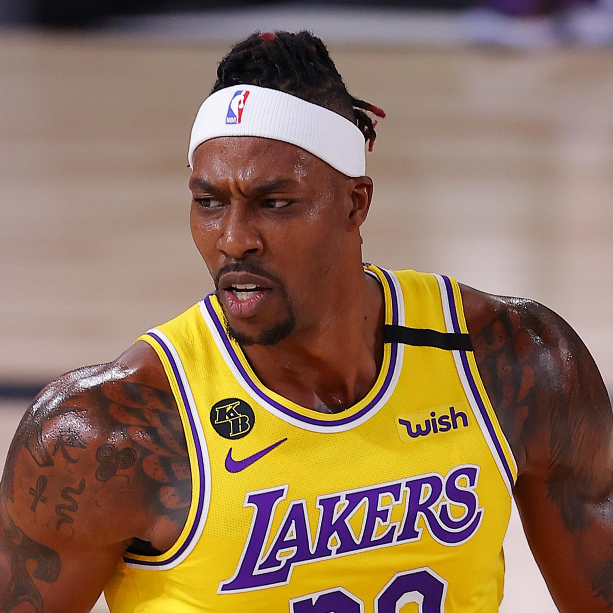 Lakers' Dwight Howard Says Lifestyles in NBA Bubble Has Been 'Extraordinarily Complex' thumbnail