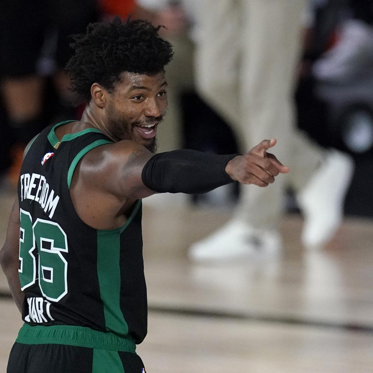 Marcus Smart Overheard Yelling at Celtics After Game 2: 'Y'all on That Bulls--t'