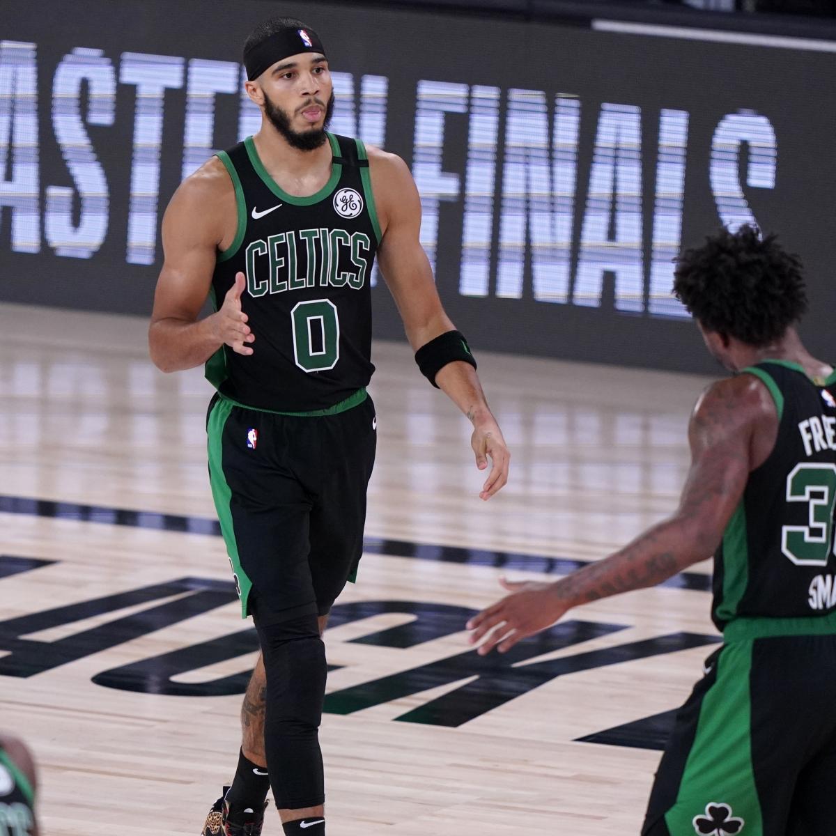 Tatum, Walker Downplay Marcus Smart Incident in Celtics Locker Room After Game 2