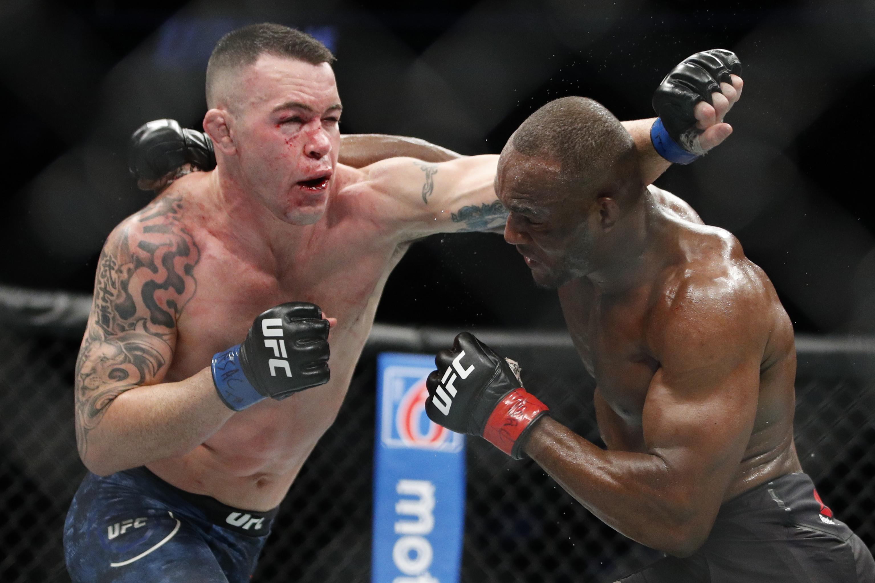 Ufc Fight Night 178 Results Colby Covington Dominates Tyron Woodley In Tko Win Bleacher Report Latest News Videos And Highlights