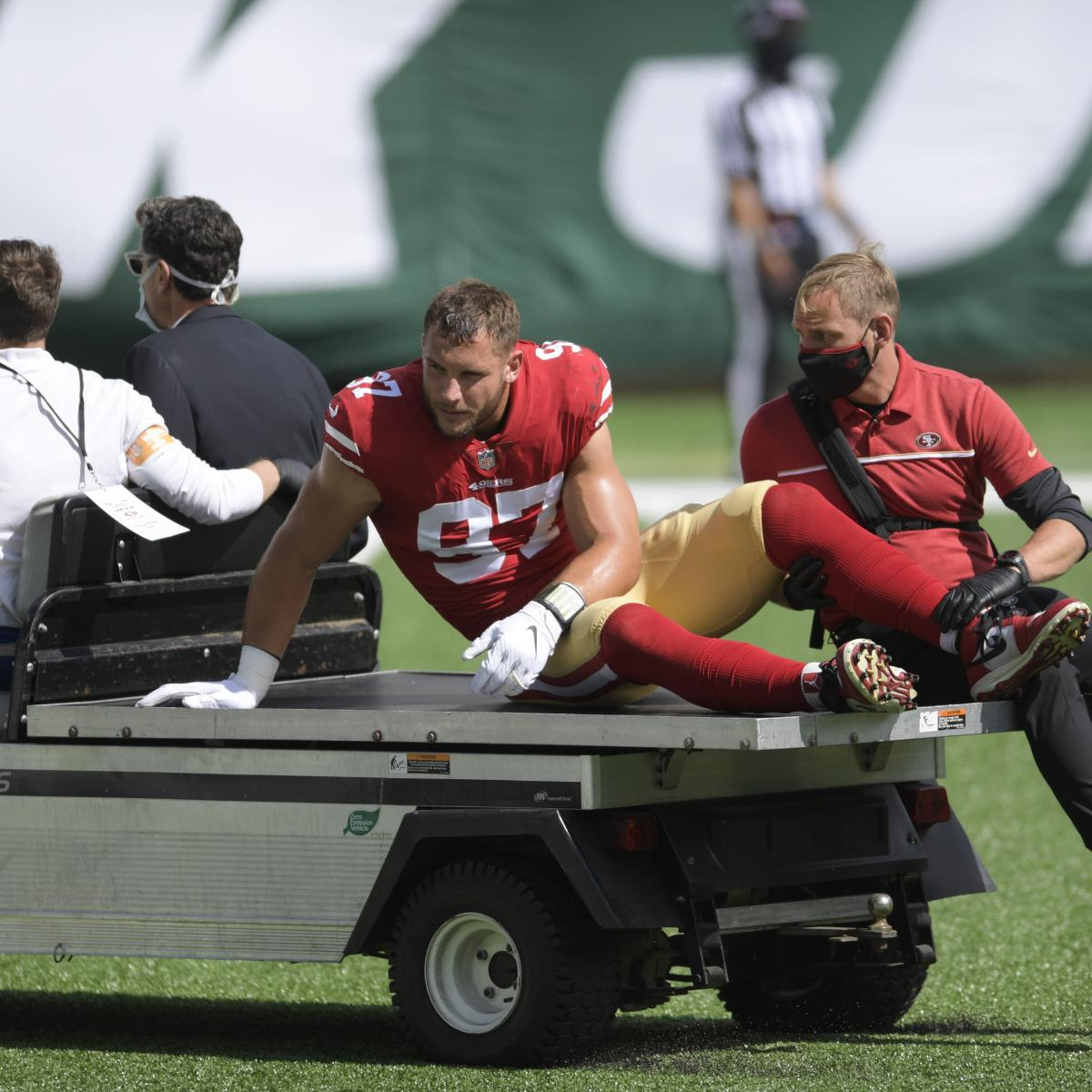 Report: 49ers Players 'Afraid' of MetLife Stadium Turf After Major Injuries