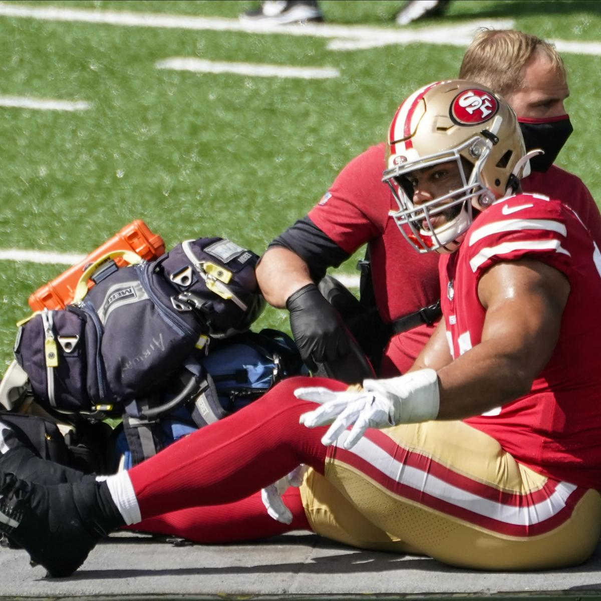 49ers' Solomon Thomas' Injury Diagnosed as Torn ACL, Will Miss Rest of Season