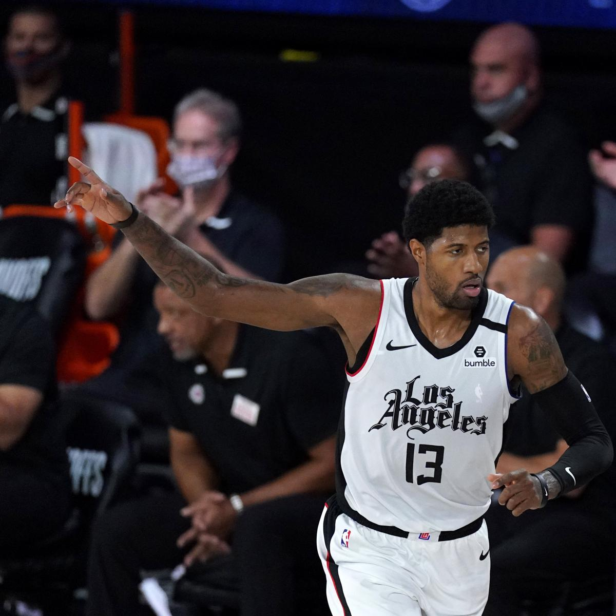 Clippers Rumors: Paul George Met with 'Bewilderment' After Post-Game 7 Comments