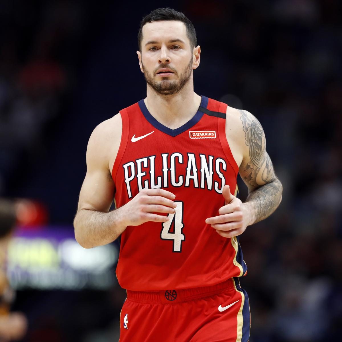 Pelicans' JJ Redick Says His Goal Is to Play 4 More Seasons, Retire at Age 40